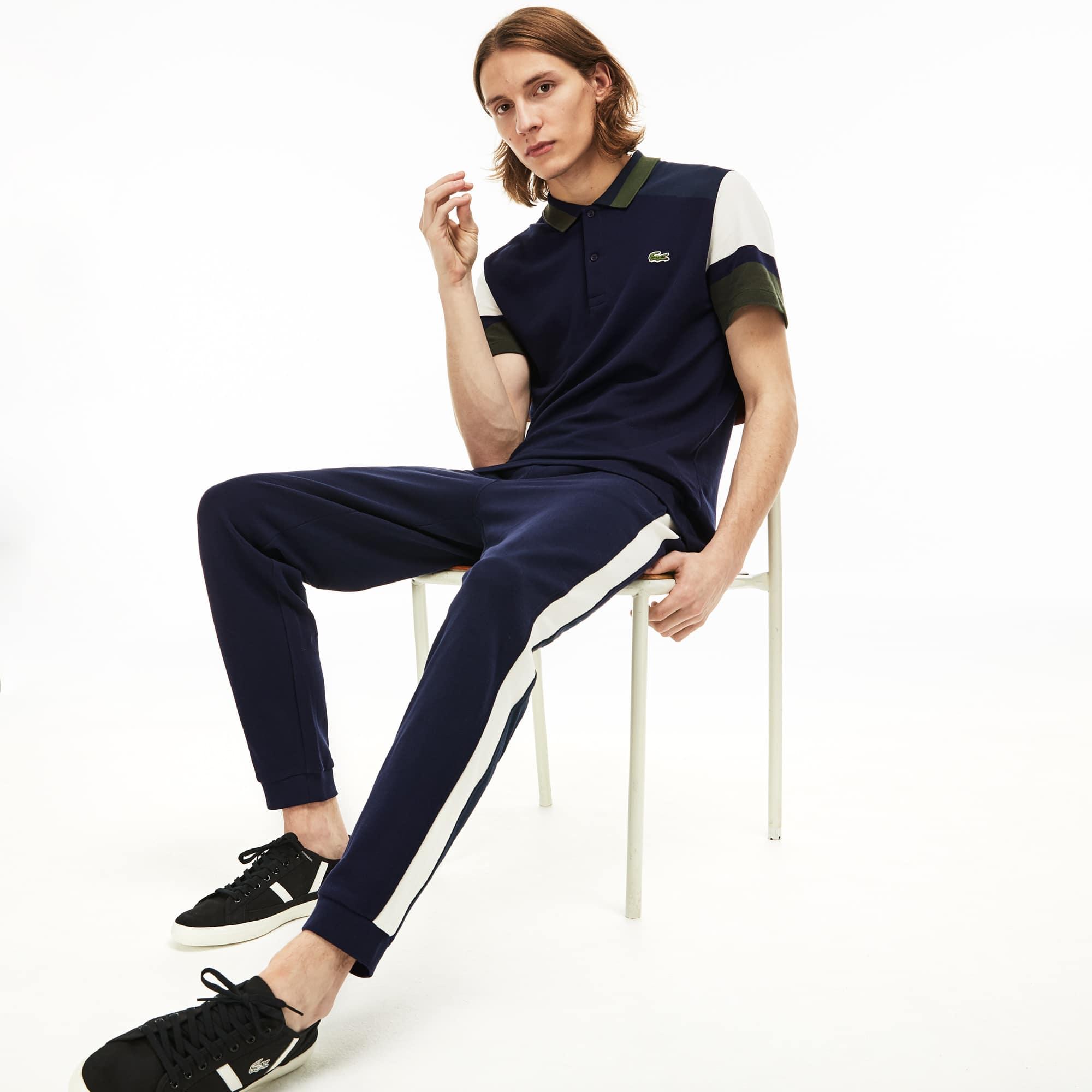 Lacoste Men's Piqué Fleece Sweatpants
