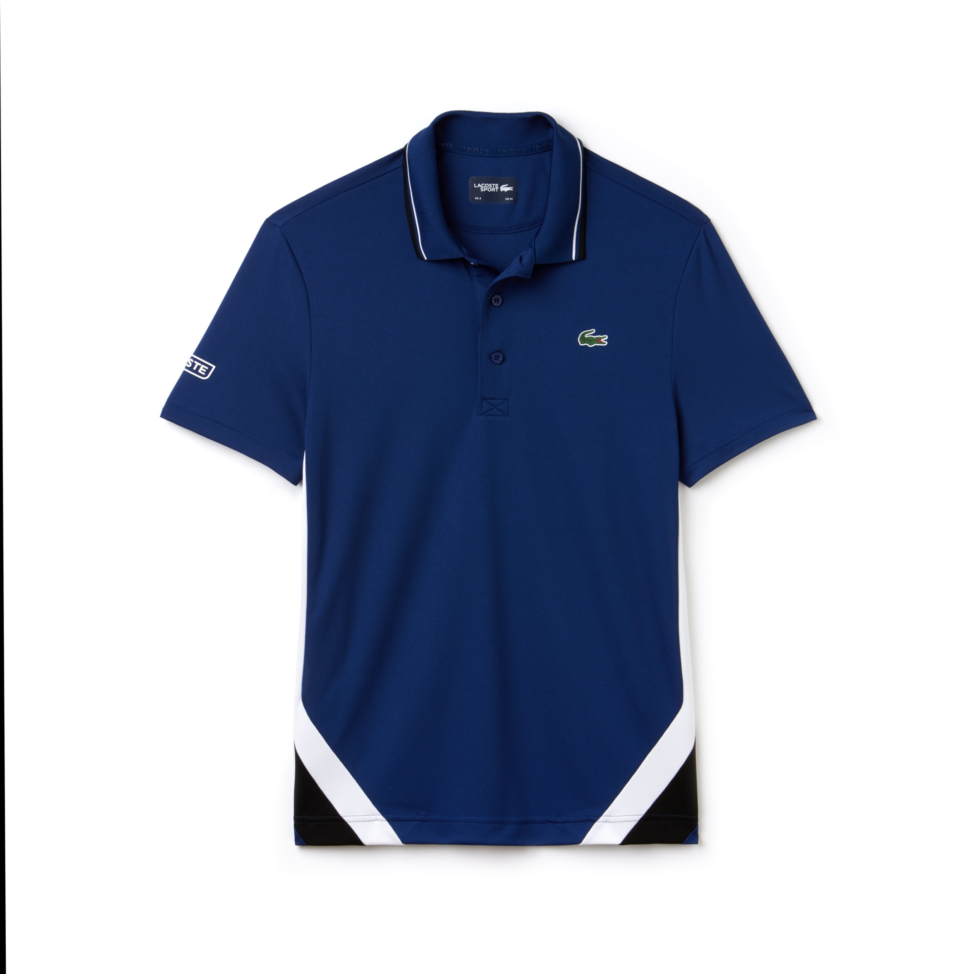 Men's SPORT Bands Technical Piqué Tennis Polo