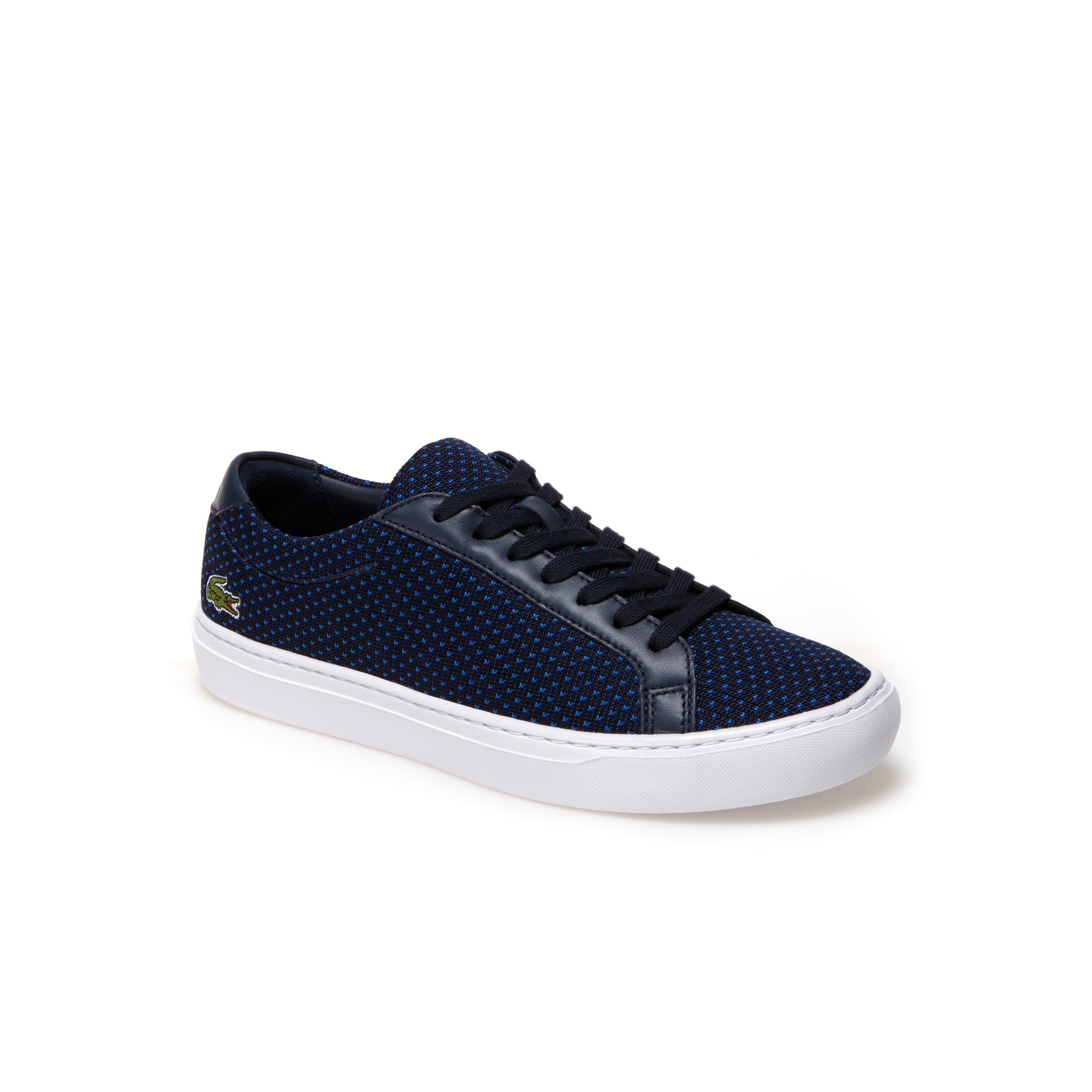 perforated sneakers - Blue Lacoste OuFkP