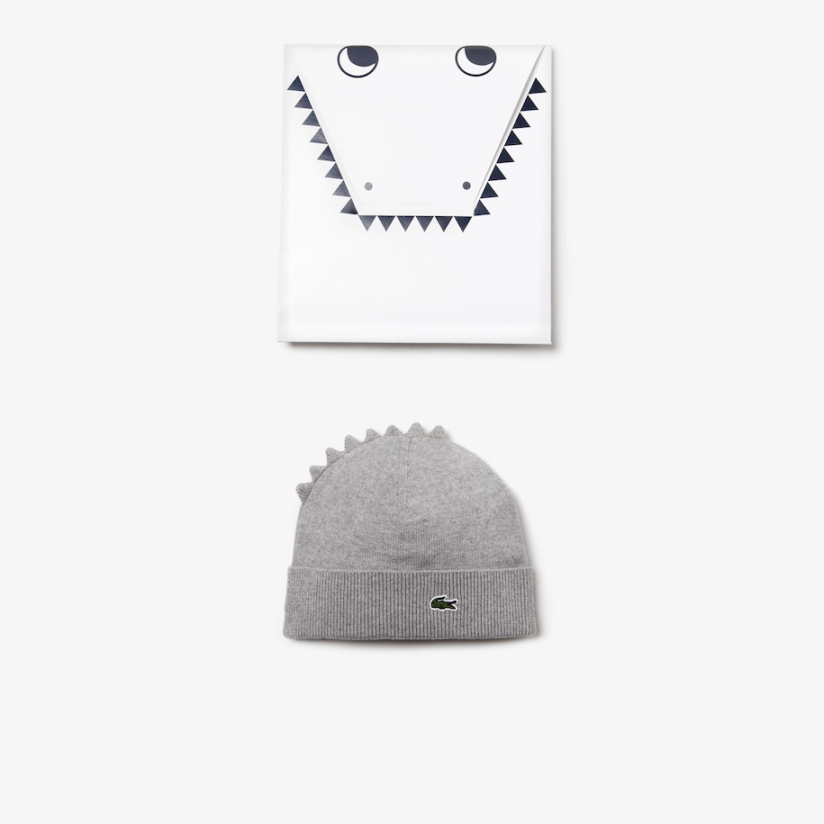 Boys' Crocodile Cotton And Cashmere Beanie