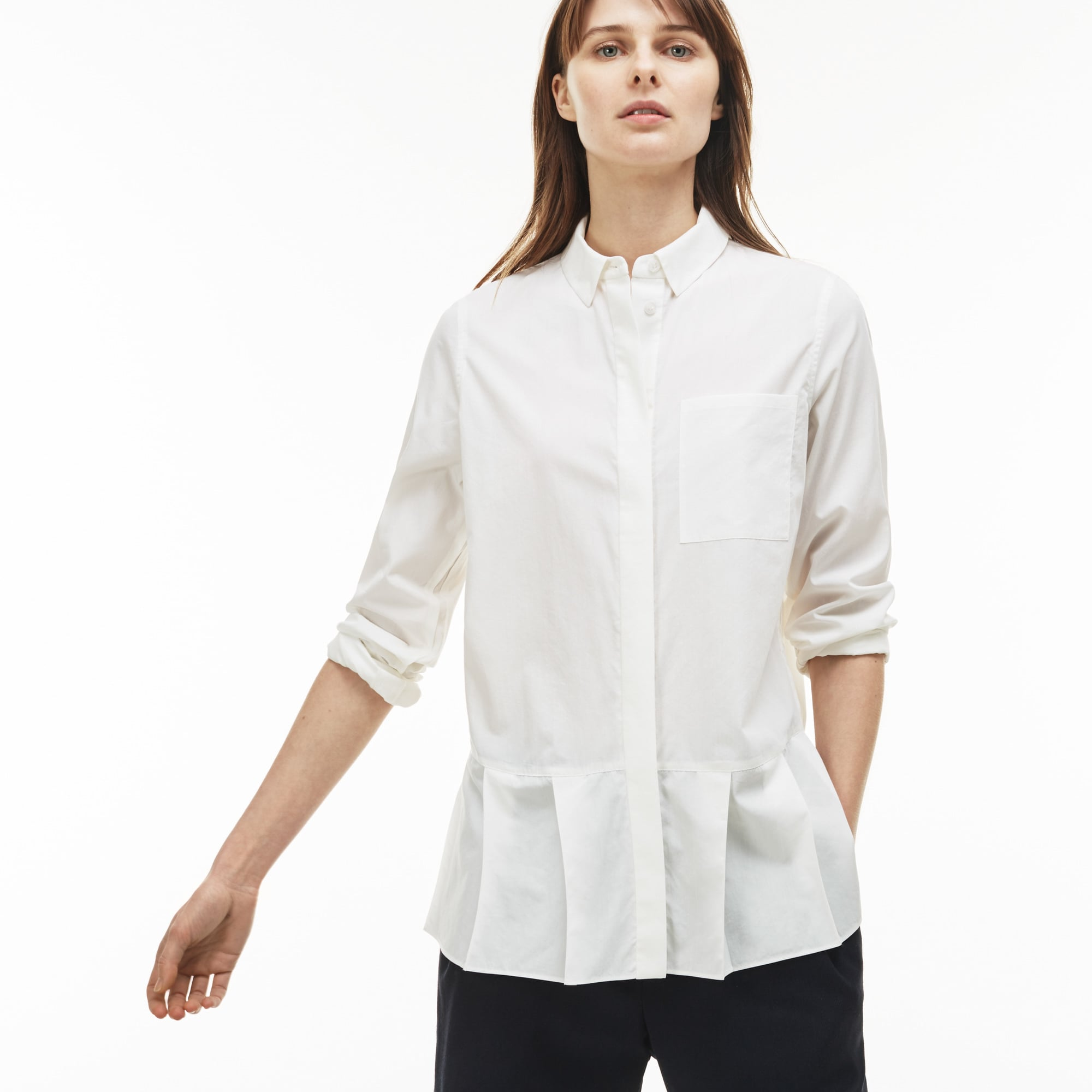 Women's Pleated Shirt