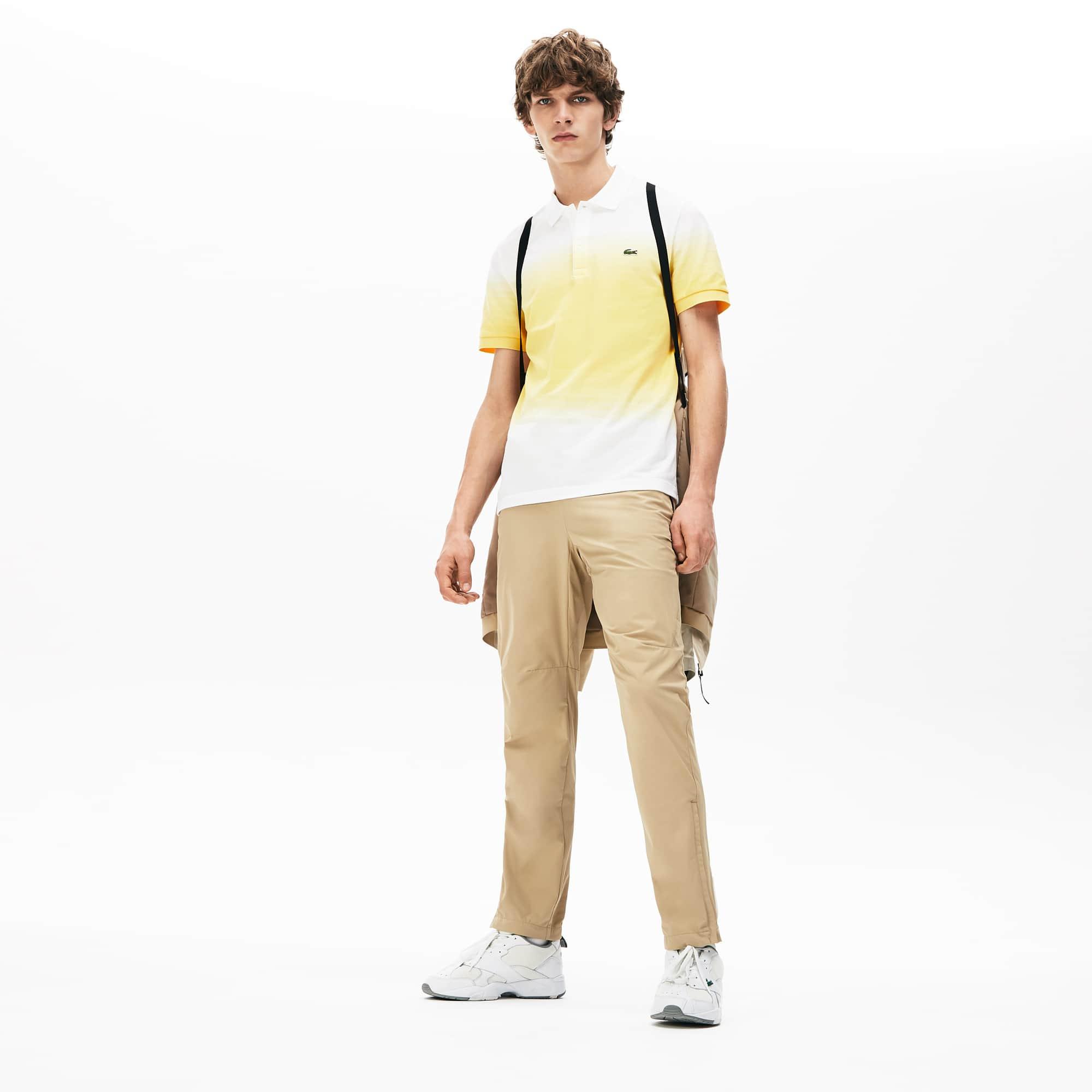 라코스테 Lacoste Mens Motion Ergonomic Pants,Beige 02S