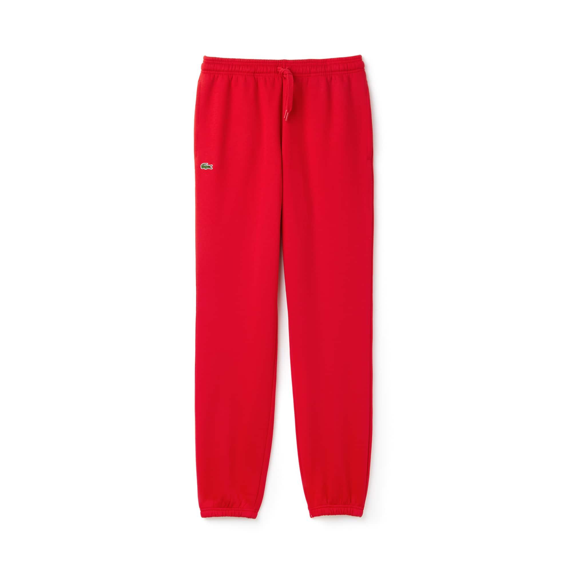 라코스테 스포츠 트랙 팬츠 Lacoste Mens SPORT Tennis trackpants in fleece,red