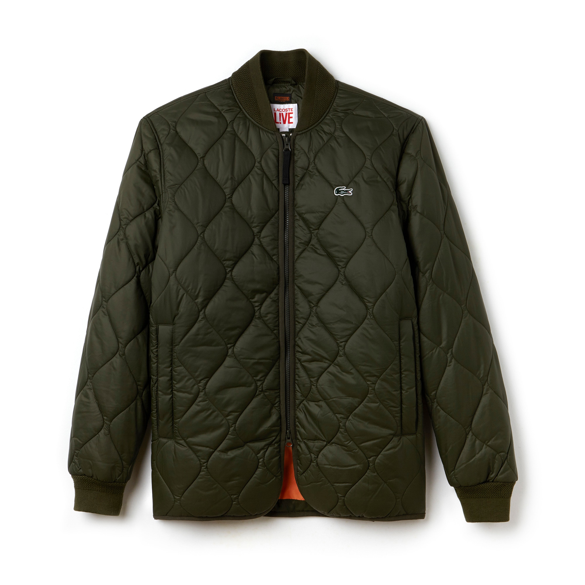 Men's  LIVE Fine Banana Collar Quilted Jacket
