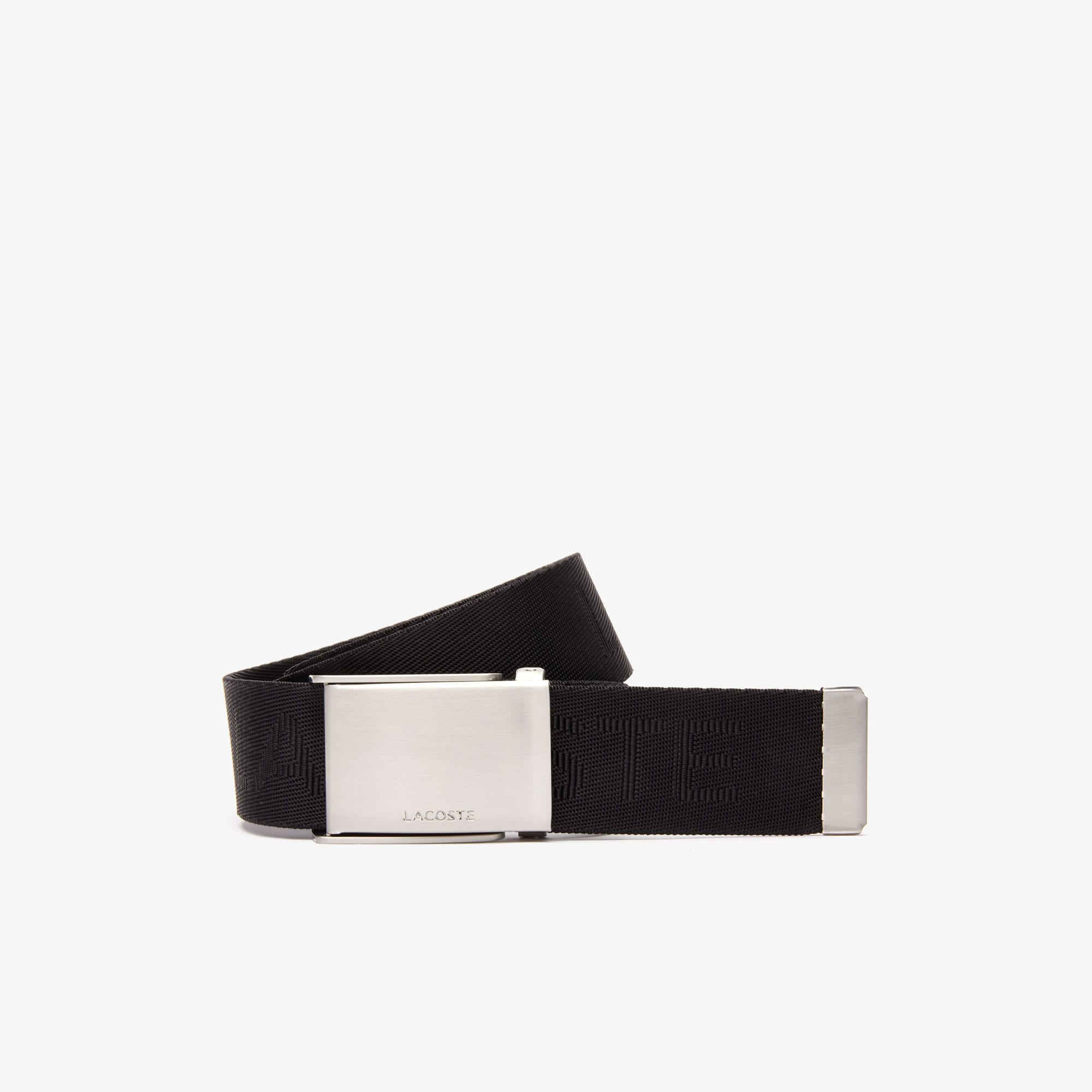Men's Lacoste Embossed Wowen Belt