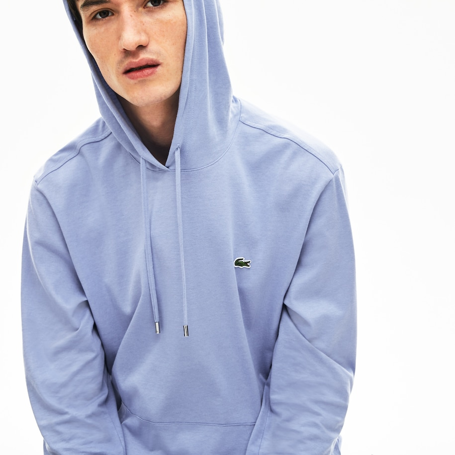 Men's Hooded Cotton T-shirt