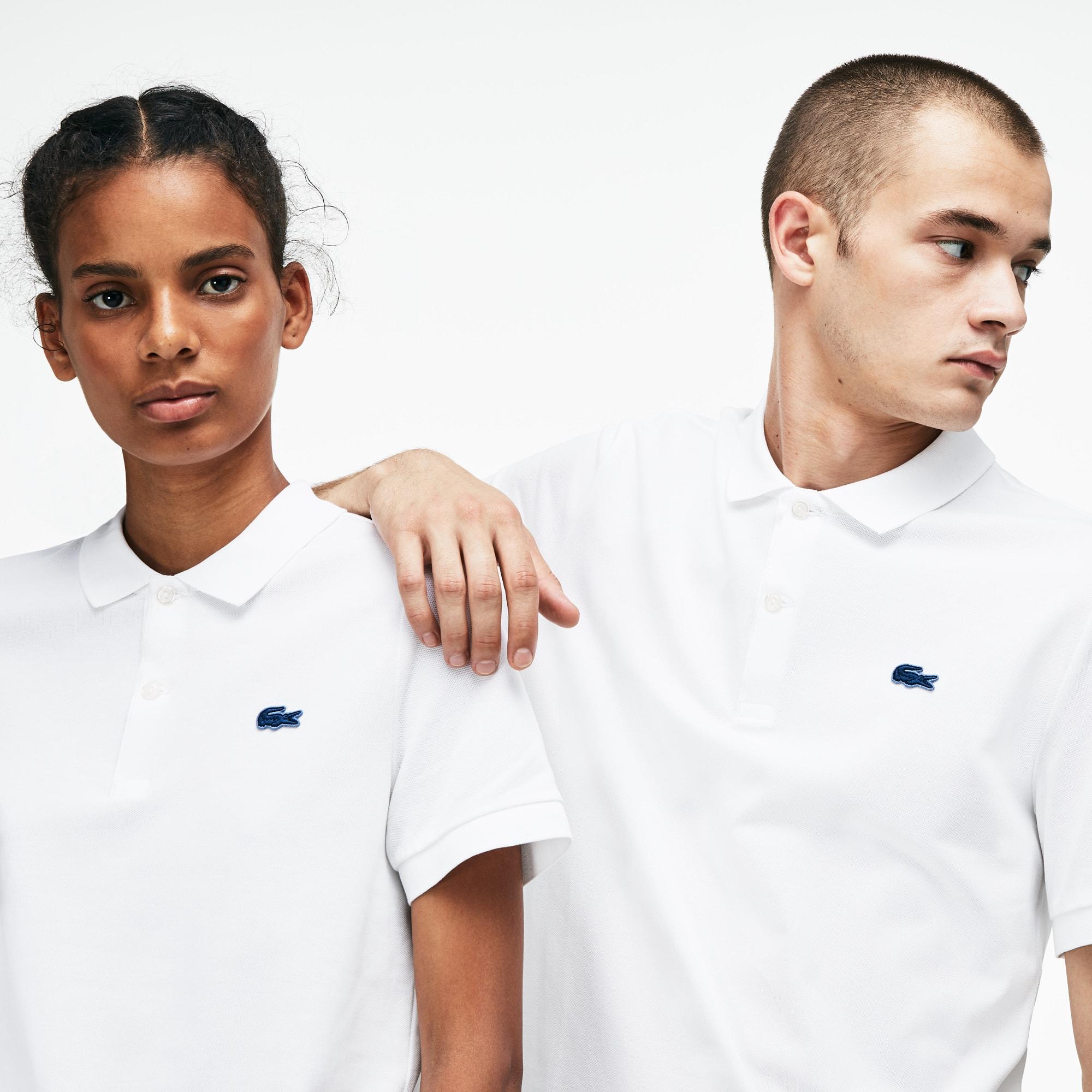 Unisex LIVE Slim Fit Stretch Mini Piqué Polo