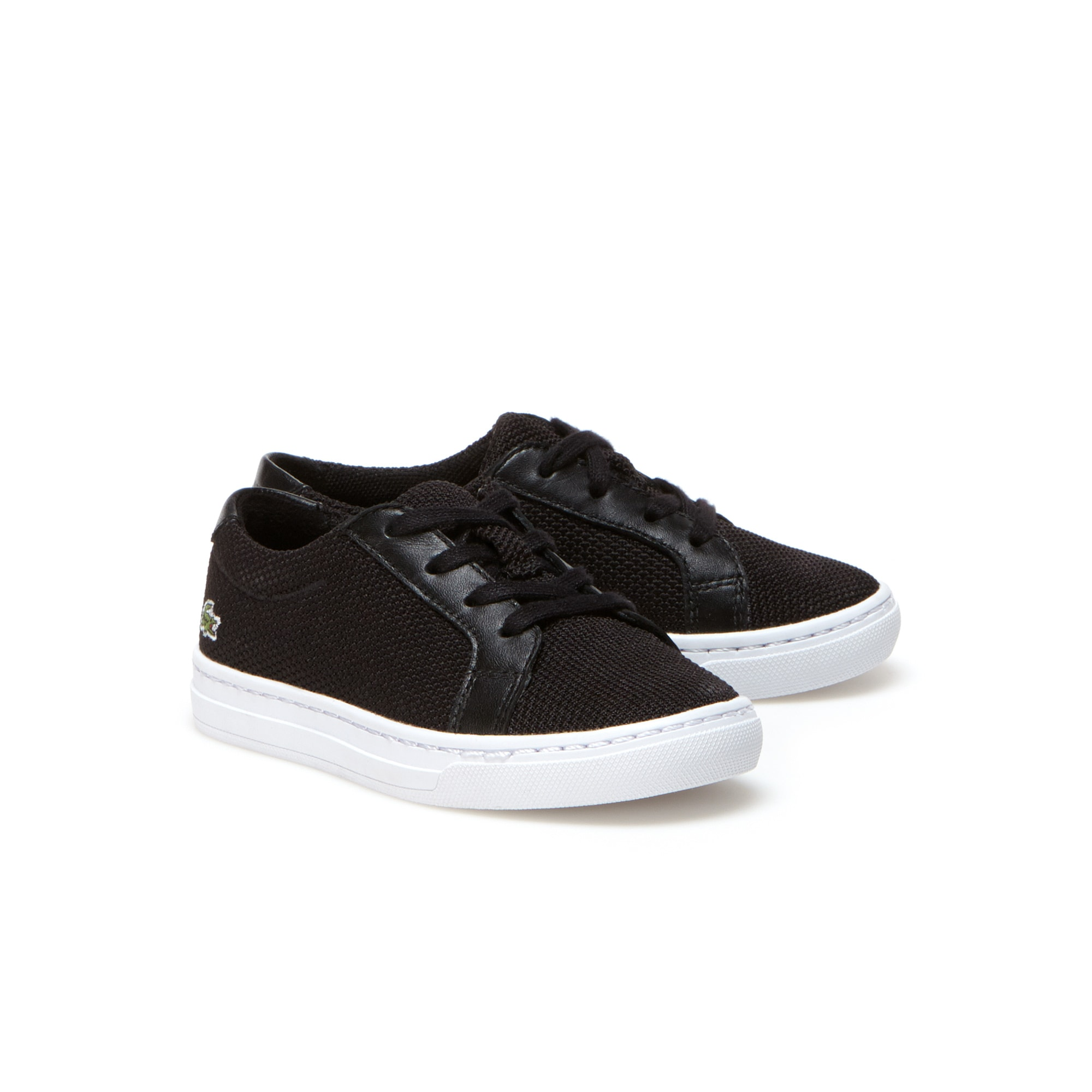 Infants' L.12.12 BL Textile and Leather Trainers