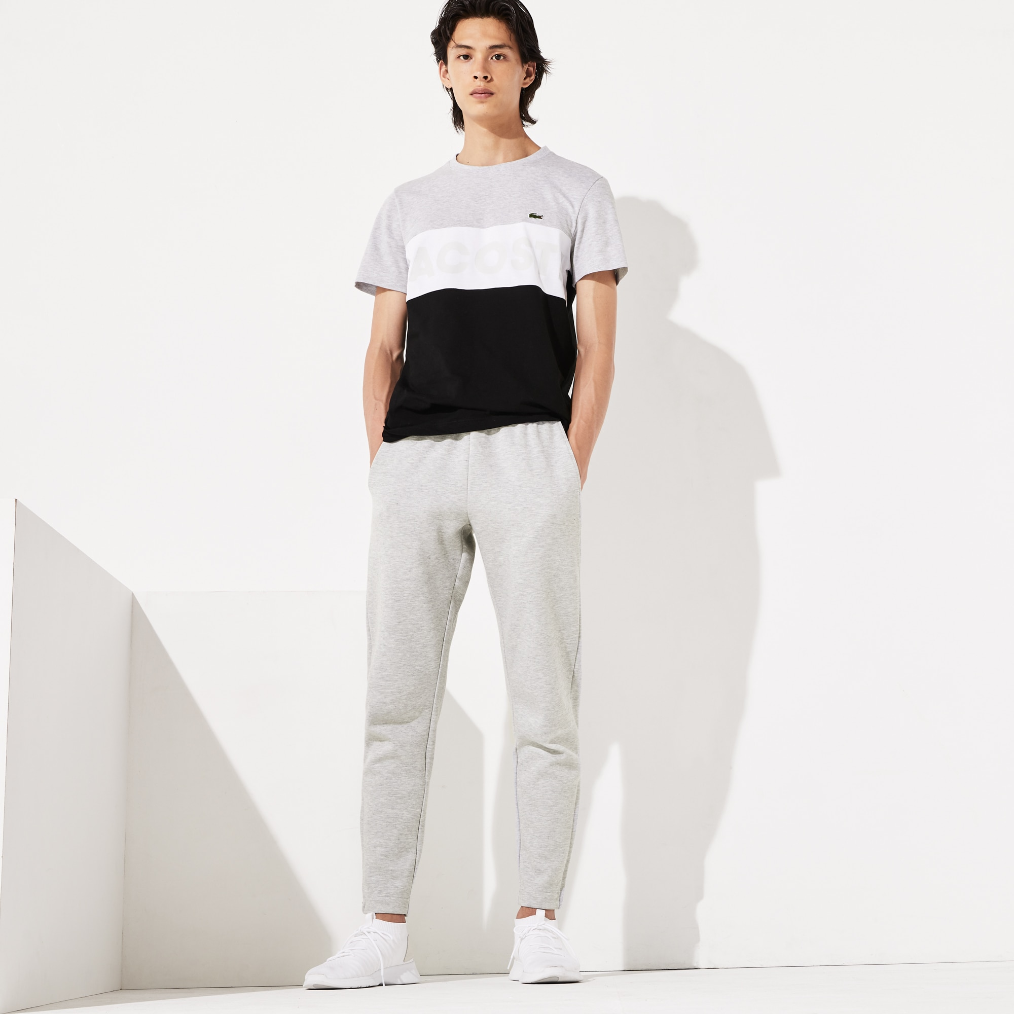 Lacoste Pants Men's SPORT Fitted Cotton-Blend Sweatpants