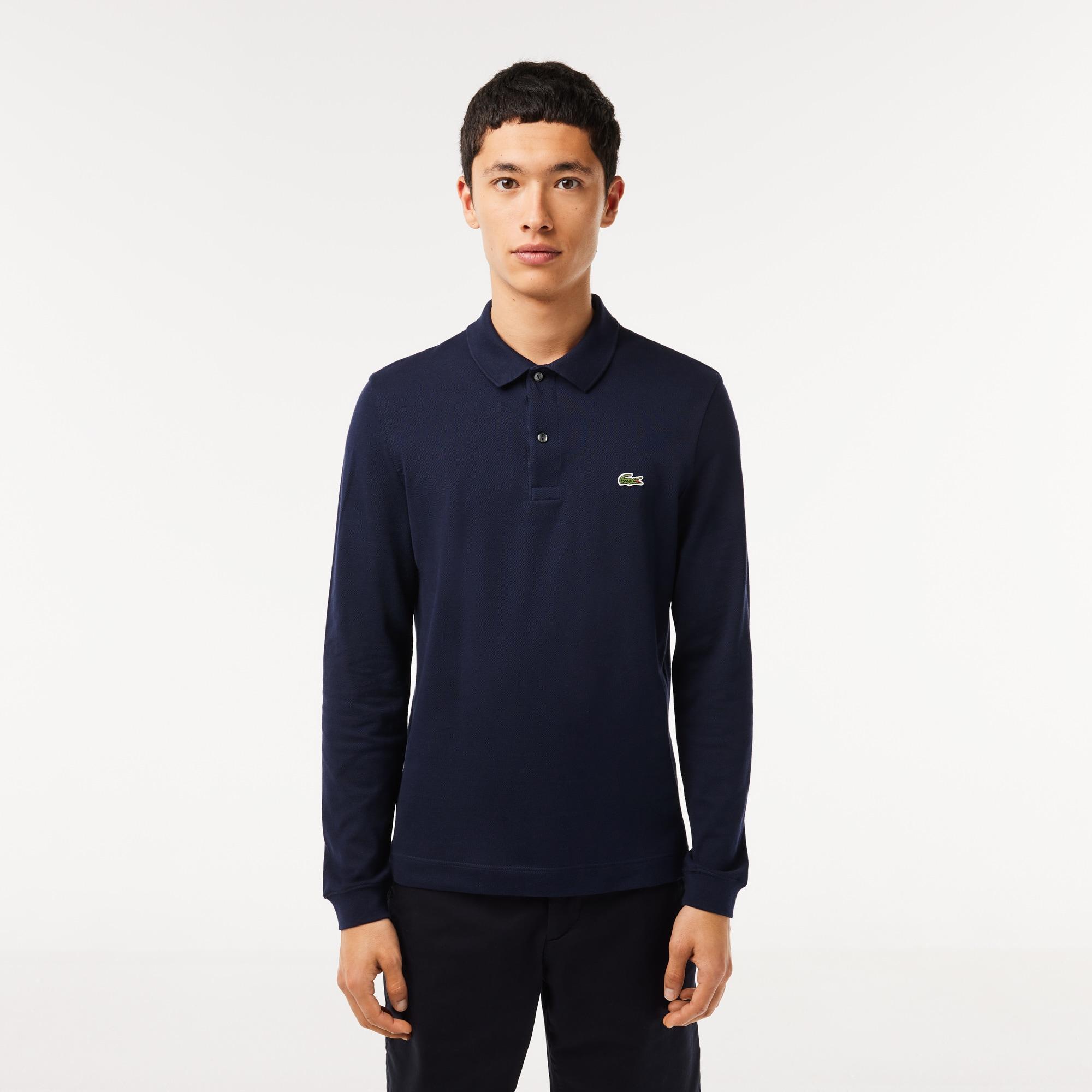 Men's  Slim Fit Petit Piqué Polo