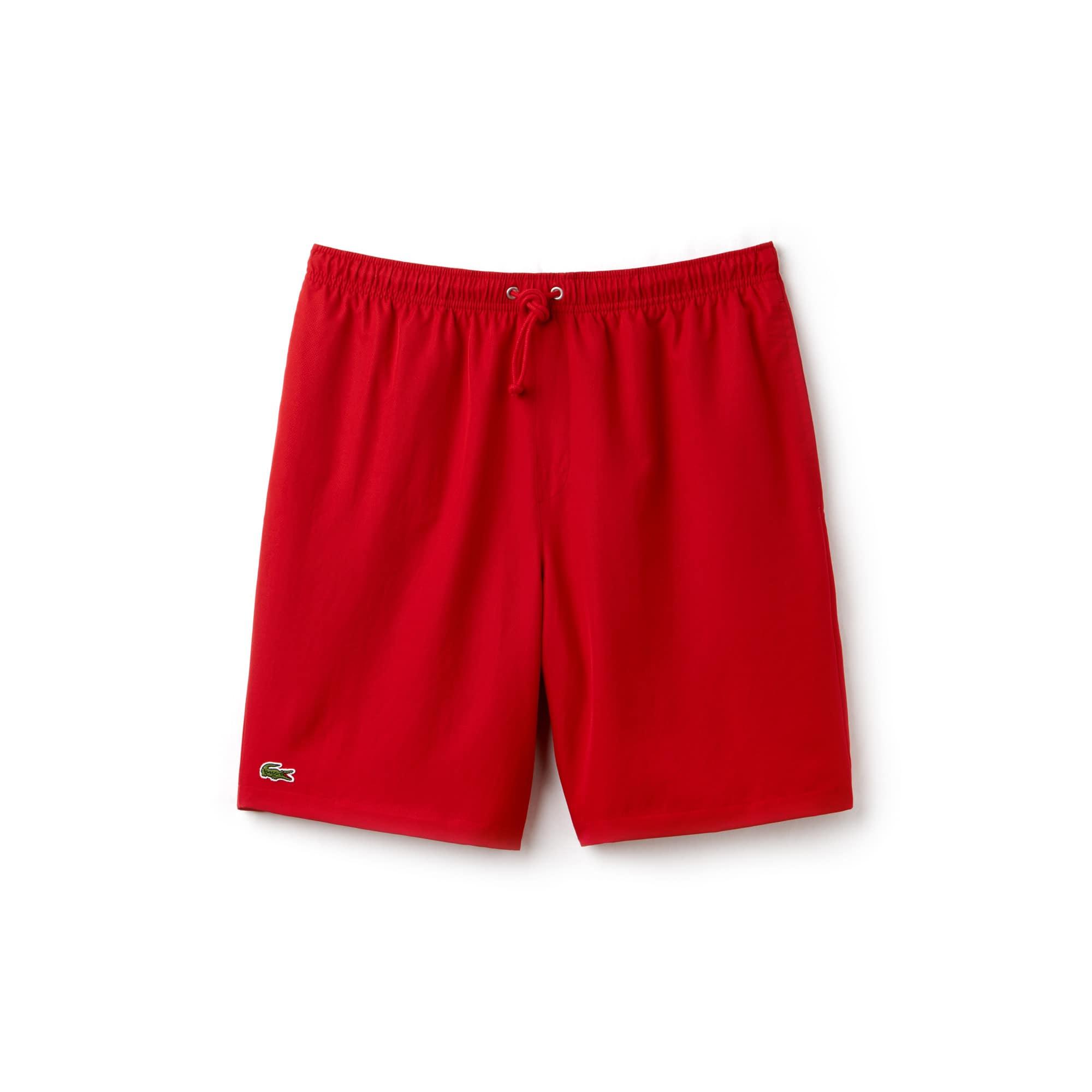 라코스테 Lacoste Mens SPORT Tennis Shorts,red
