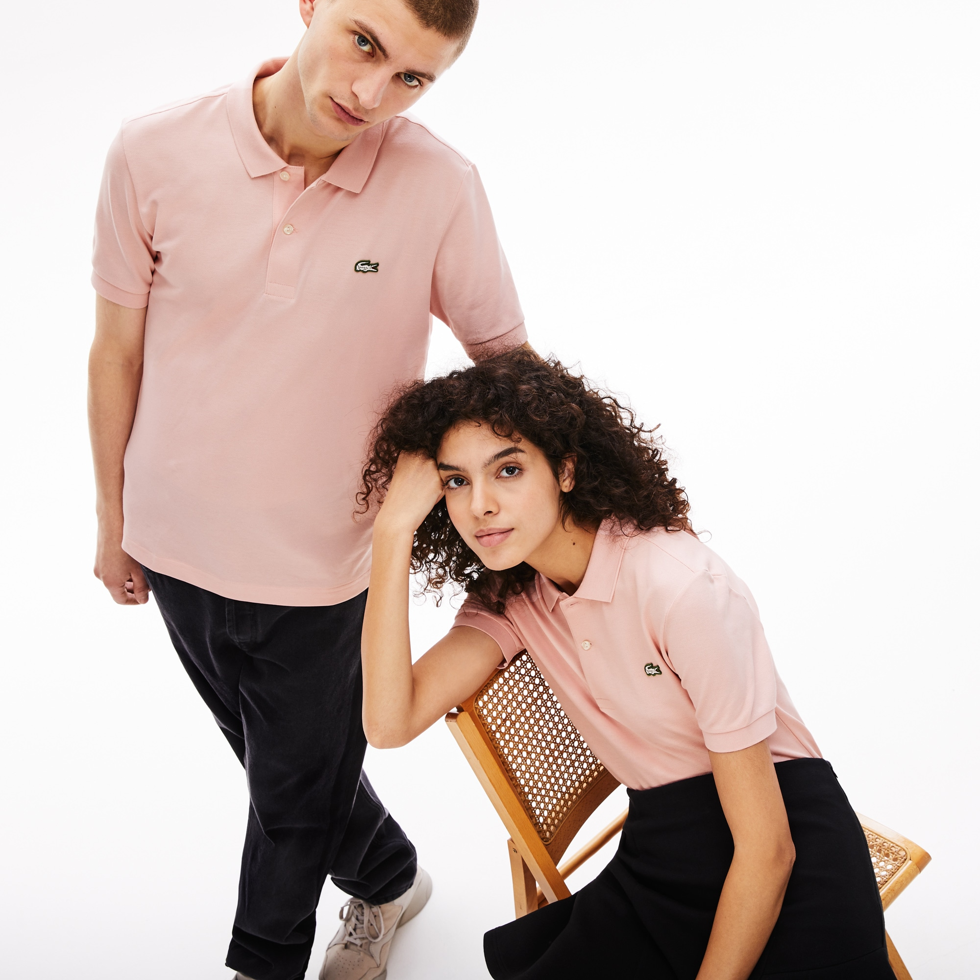 Unisex LIVE Slim Fit Stretch Cotton Piqué Polo Shirt