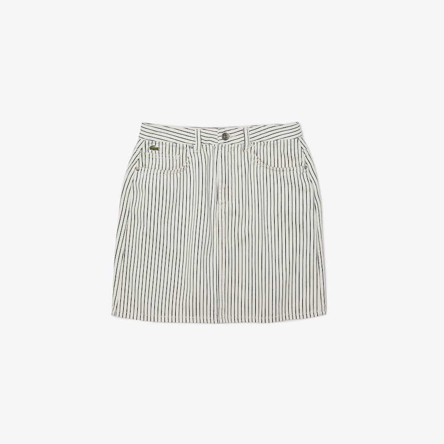 Women's LIVE Short Striped Skirt