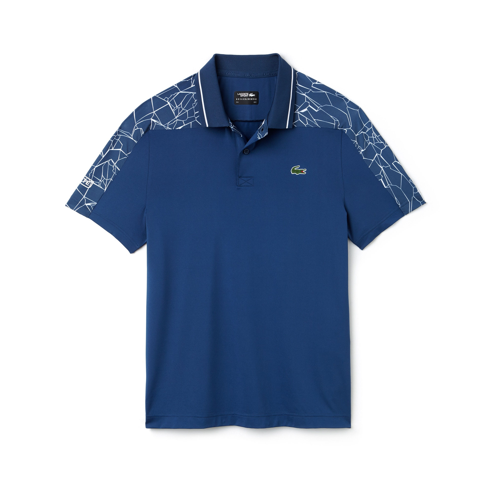 Men's SPORT Stretch Technical Jersey Polo - Lacoste x Novak Djokovic On Court Premium Edition