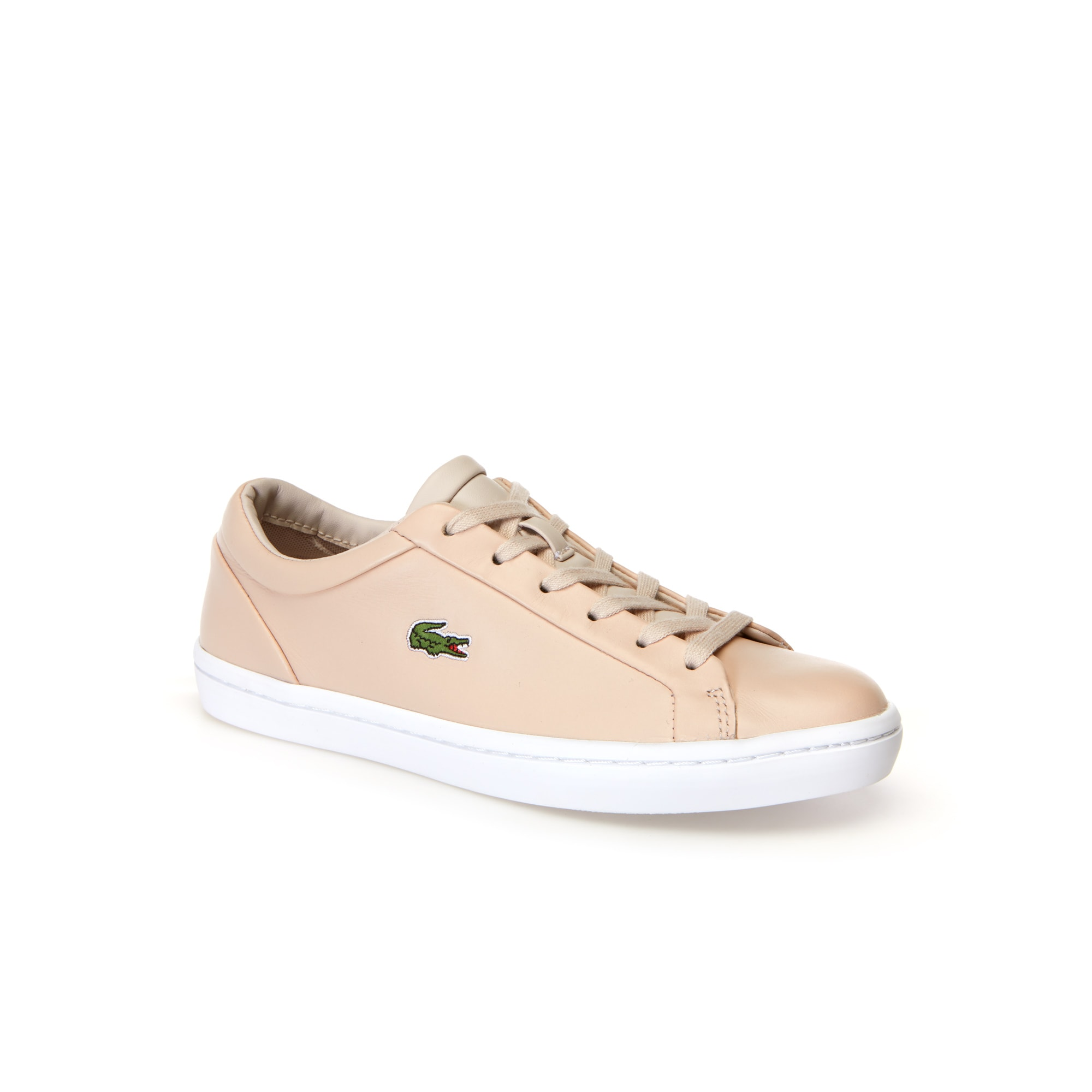 Women's Straightset Lace Leather Sneakers