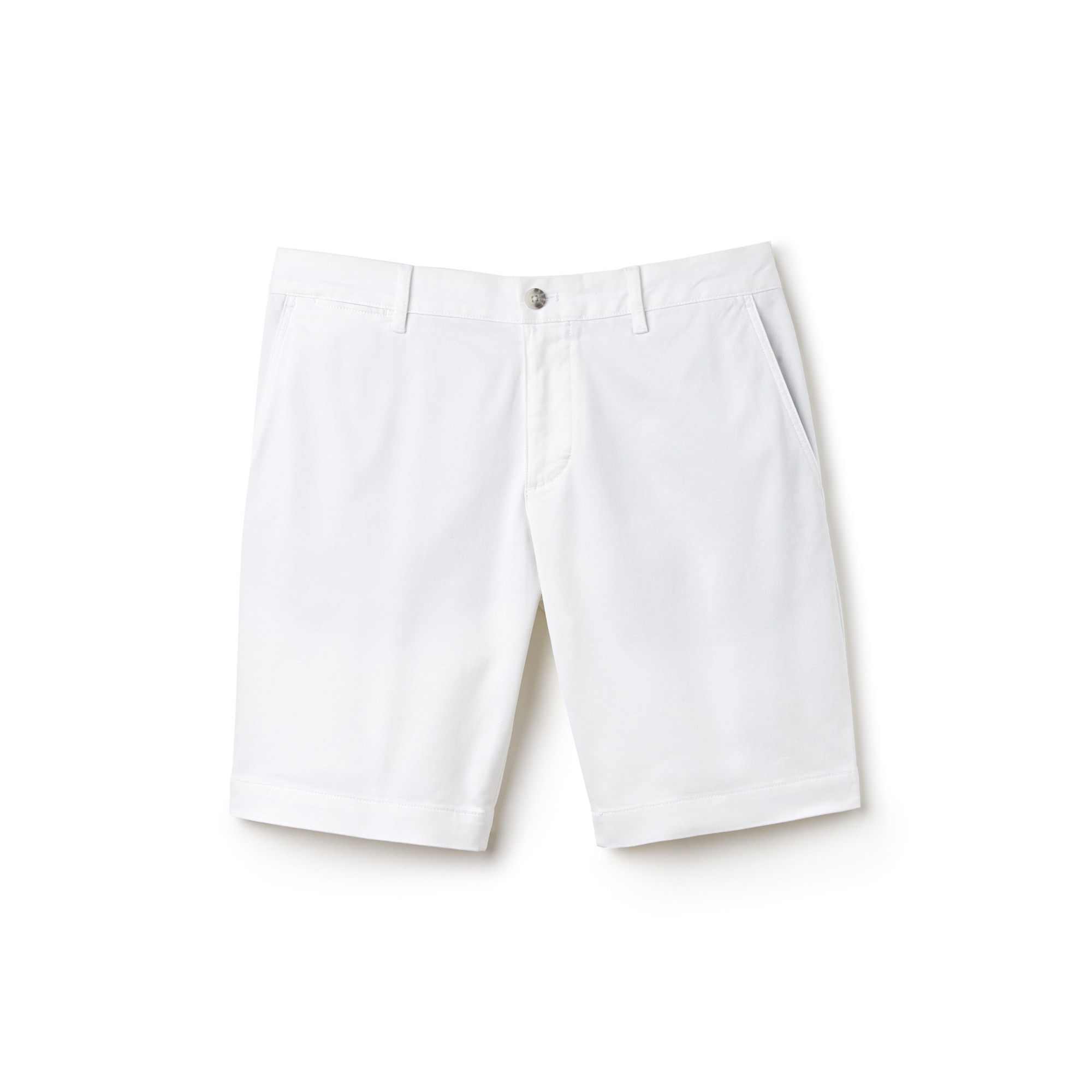 Men's Slim Fit Stretch Bermuda Shorts