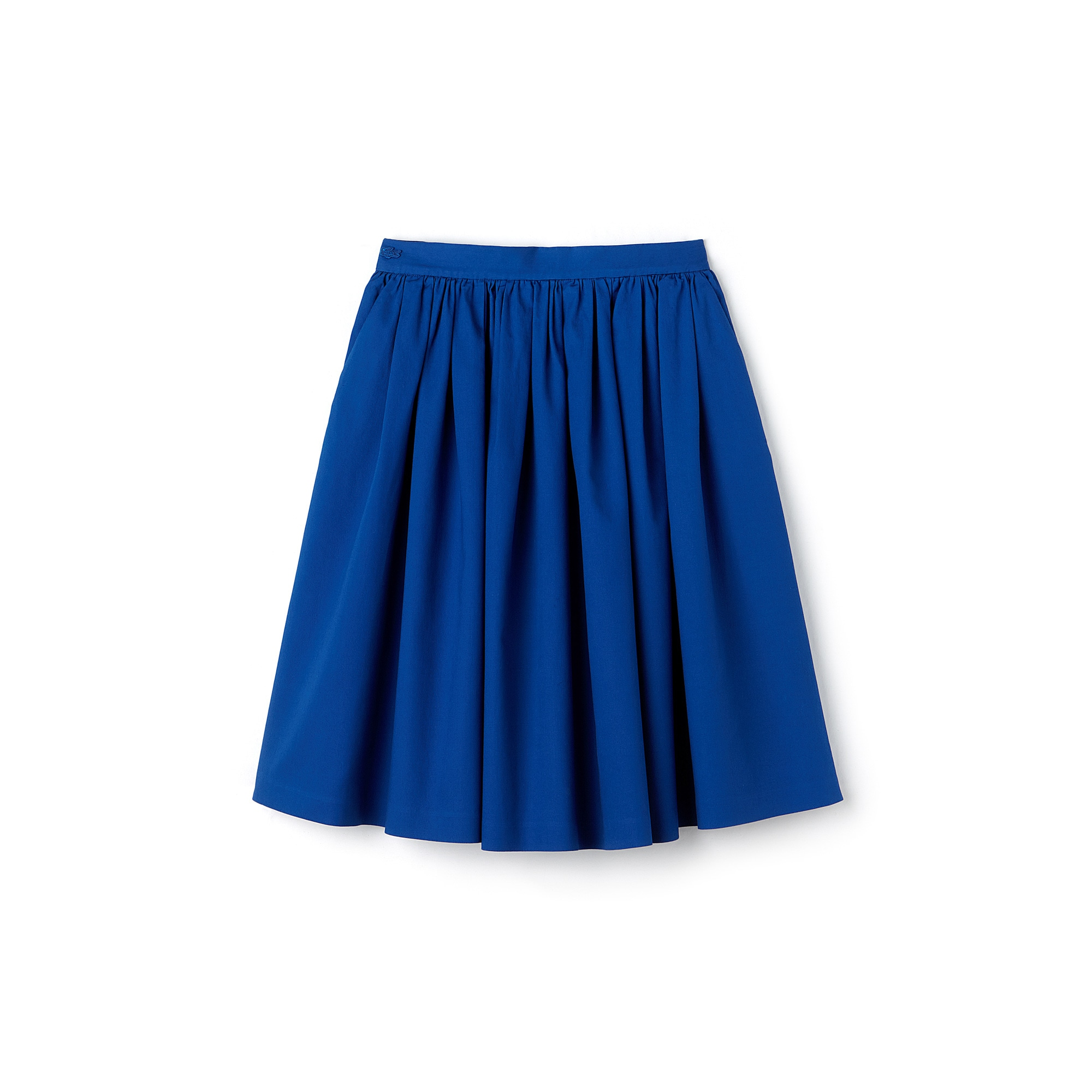 Women's Texturized Mid-Length Skirt