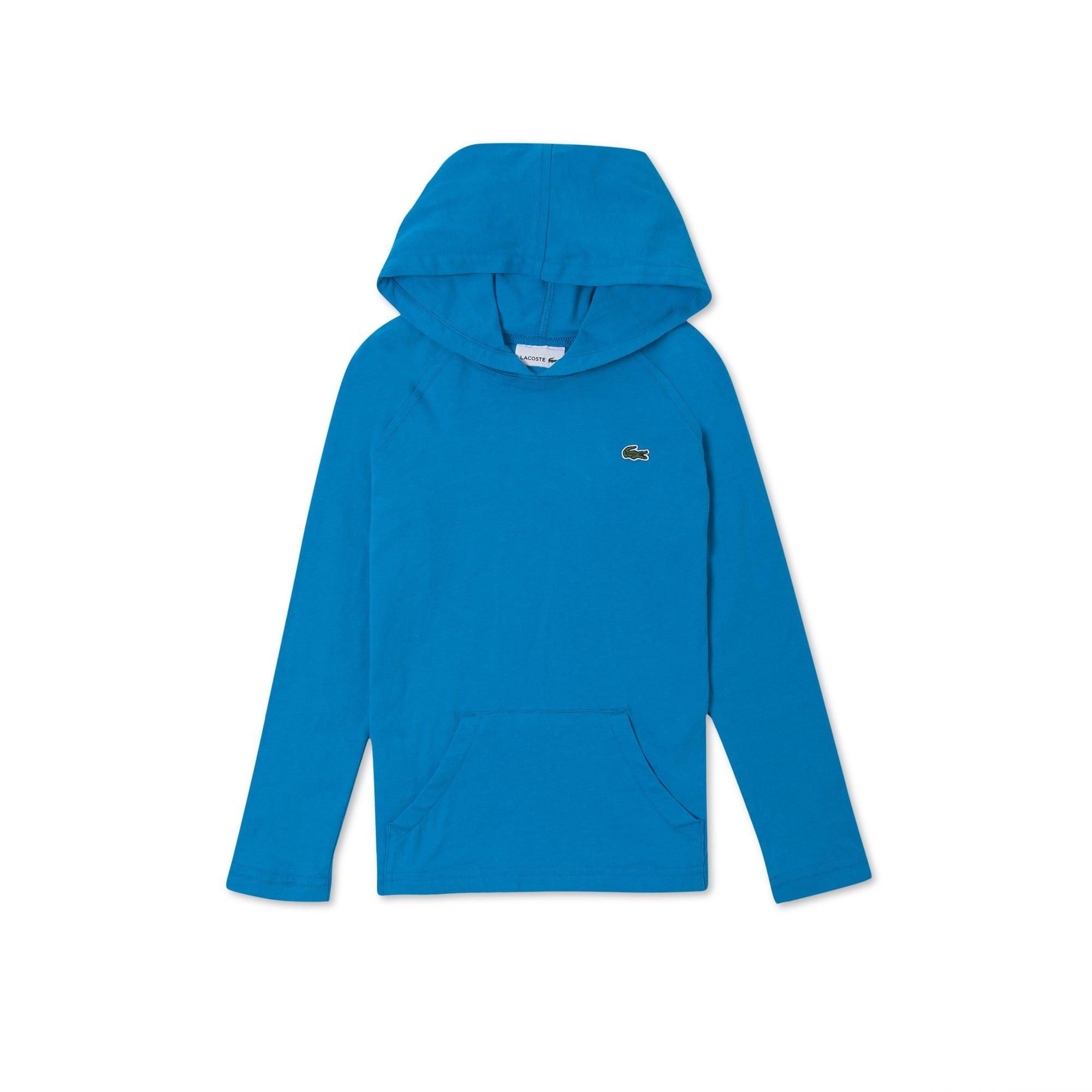 Boys' Hooded Cotton Jersey Sweatshirt