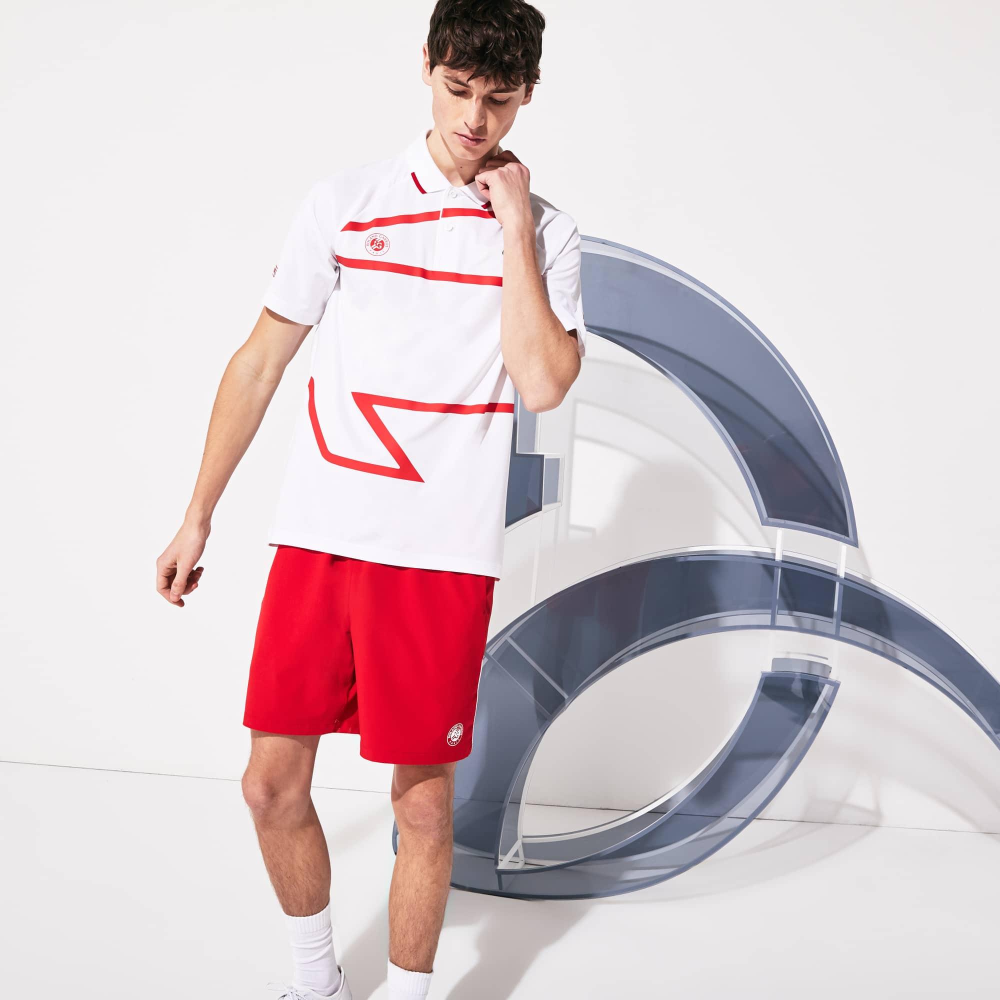 라코스테 스포츠 롤랑가로스 노박 조코비치 폴로셔츠 Lacoste Mens SPORT Roland Garros x Novak Djokovic Polo Shirt