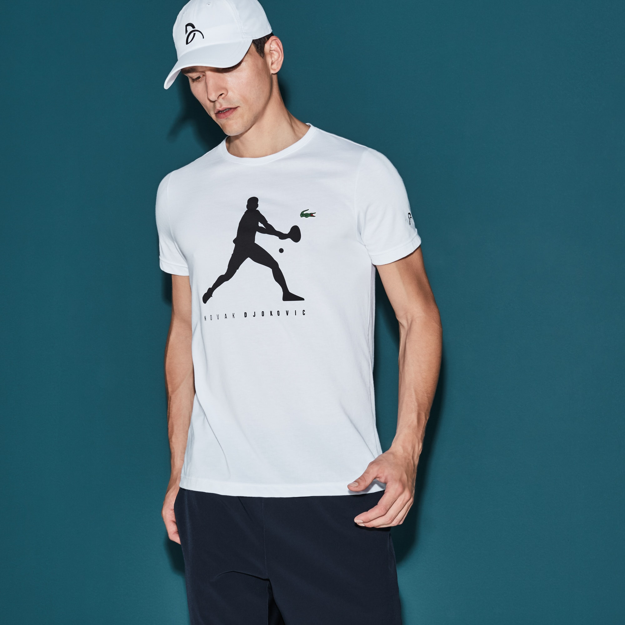 Men's SPORT Tennis Tech Jersey T-shirt - Novak Djokovic Supporter Collection