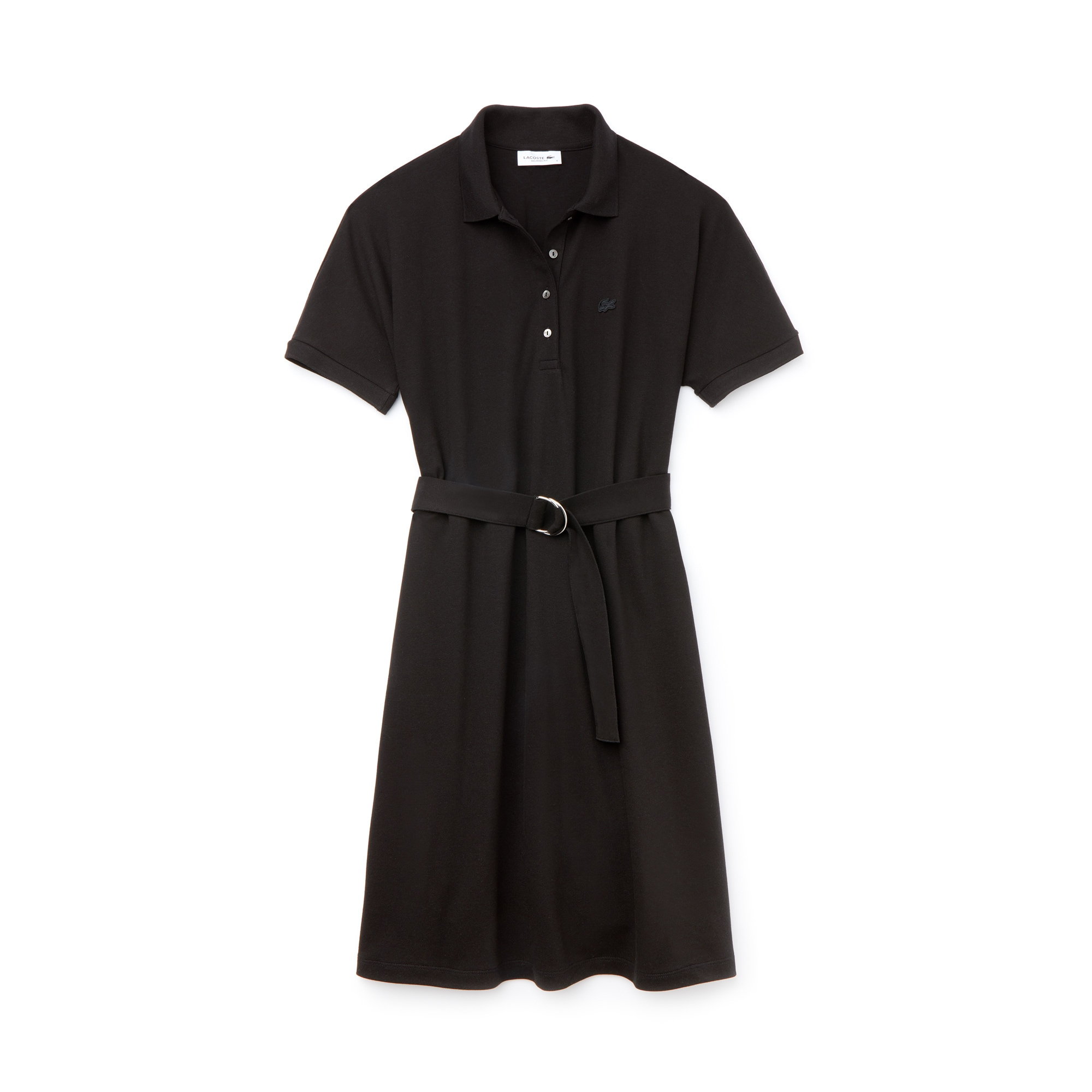 Women's Flowing Cotton Piqué Polo Dress