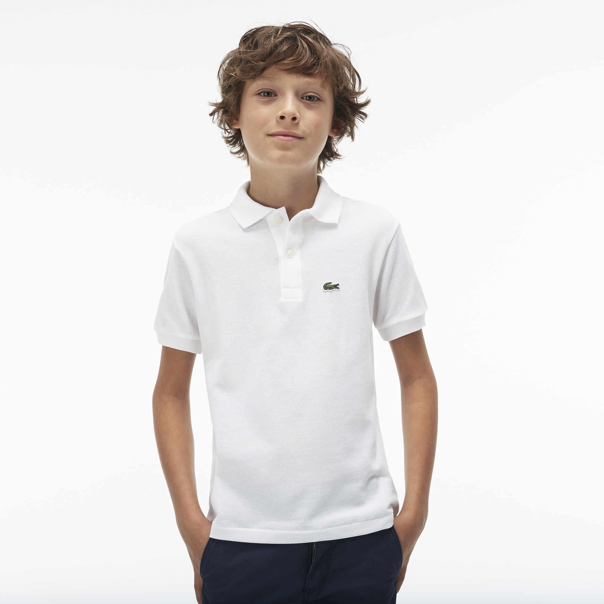 db96846ad Boy's Polo Shirts | The Lacoste Polo For Kids | LACOSTE