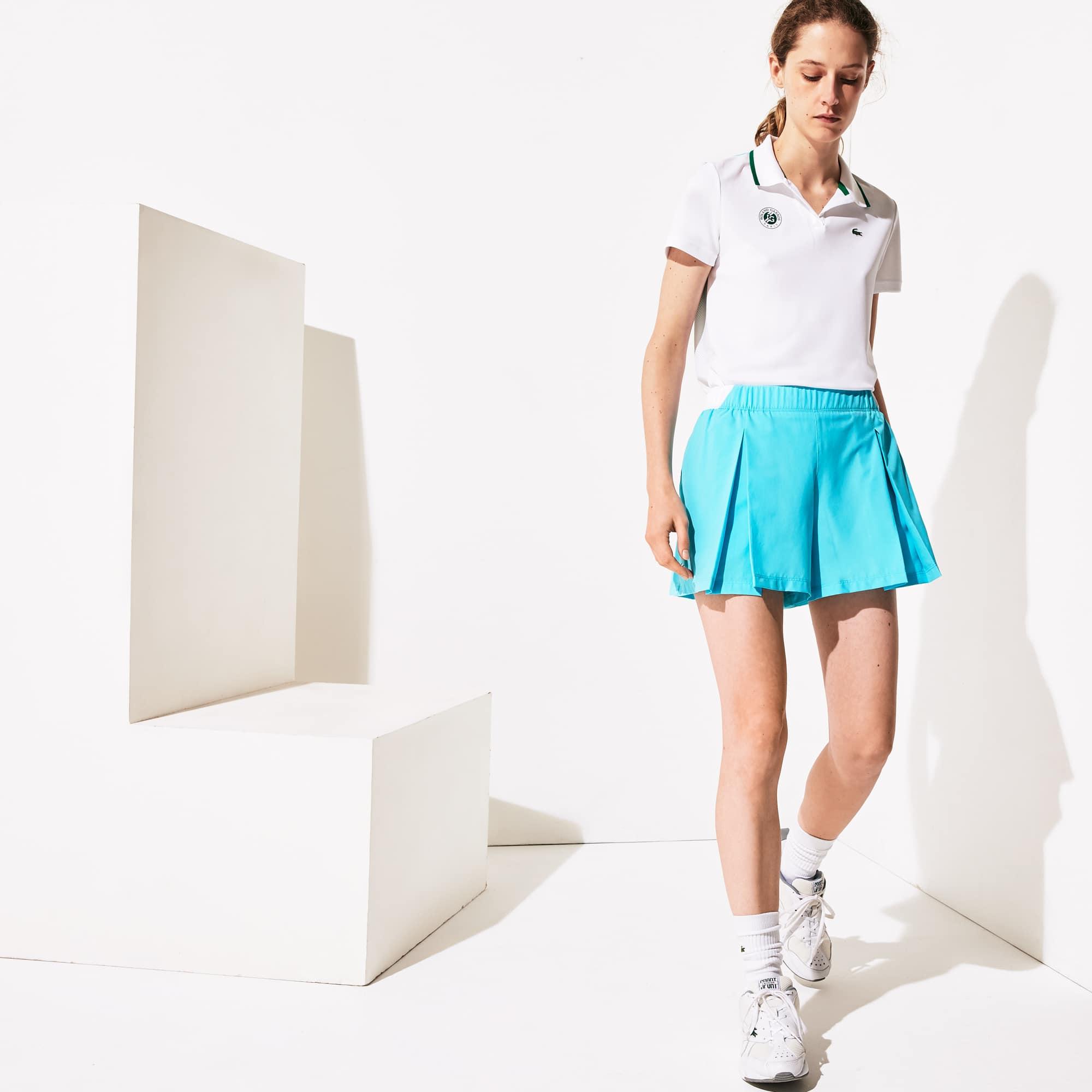 라코스테 스포츠 롤랑가로스 퀼로트 스커트 Lacoste Womens SPORT Roland Garros Culotte Skirt