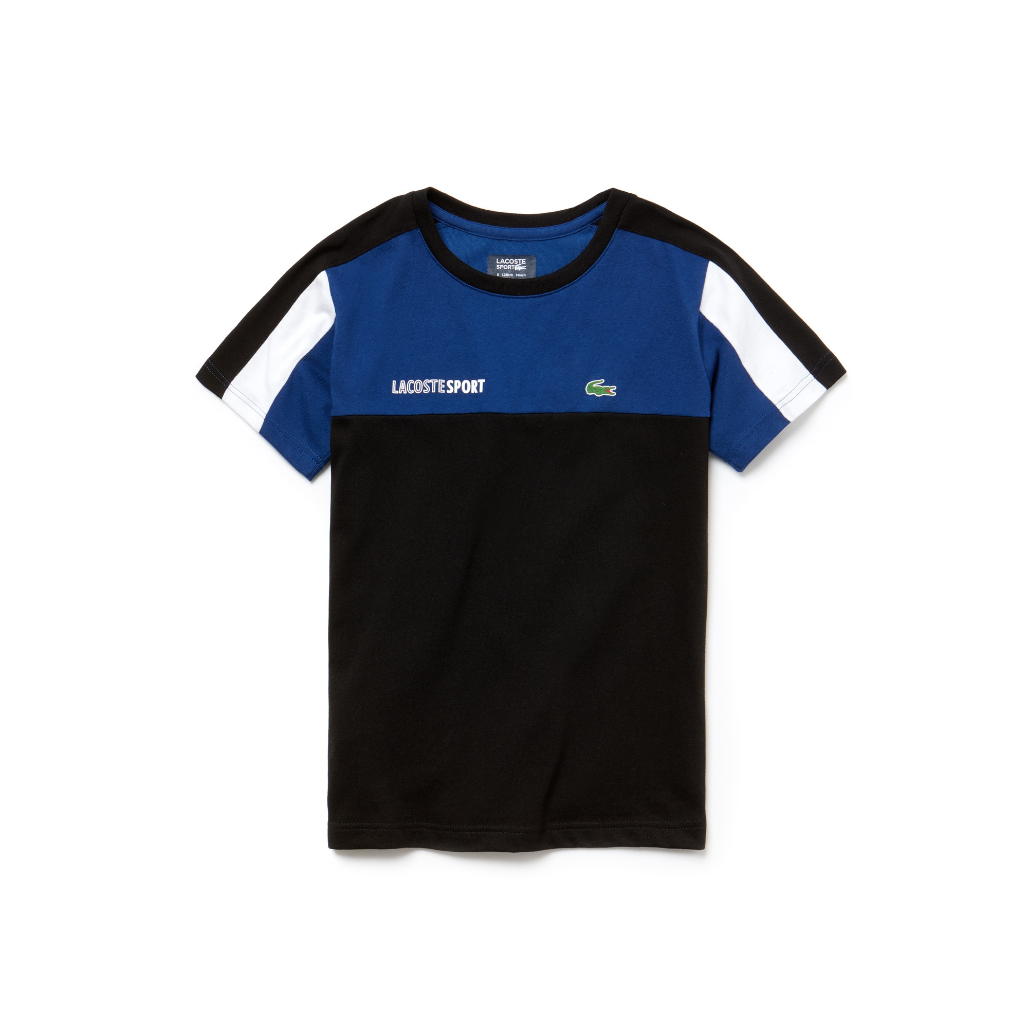 Boys' SPORT Crew Neck Colorblock Jersey Tennis T-shirt