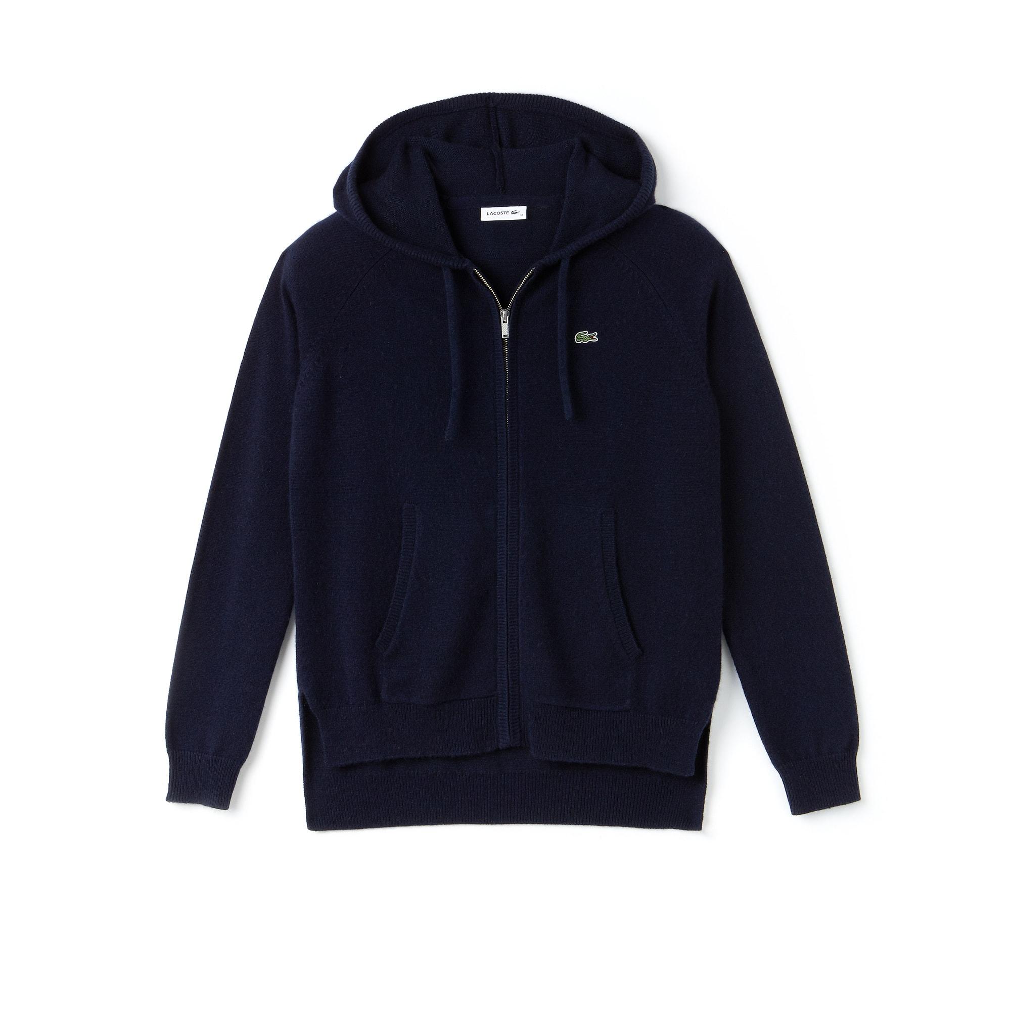 Women's SPORT Tennis Cashmere Jersey Zip Sweatshirt