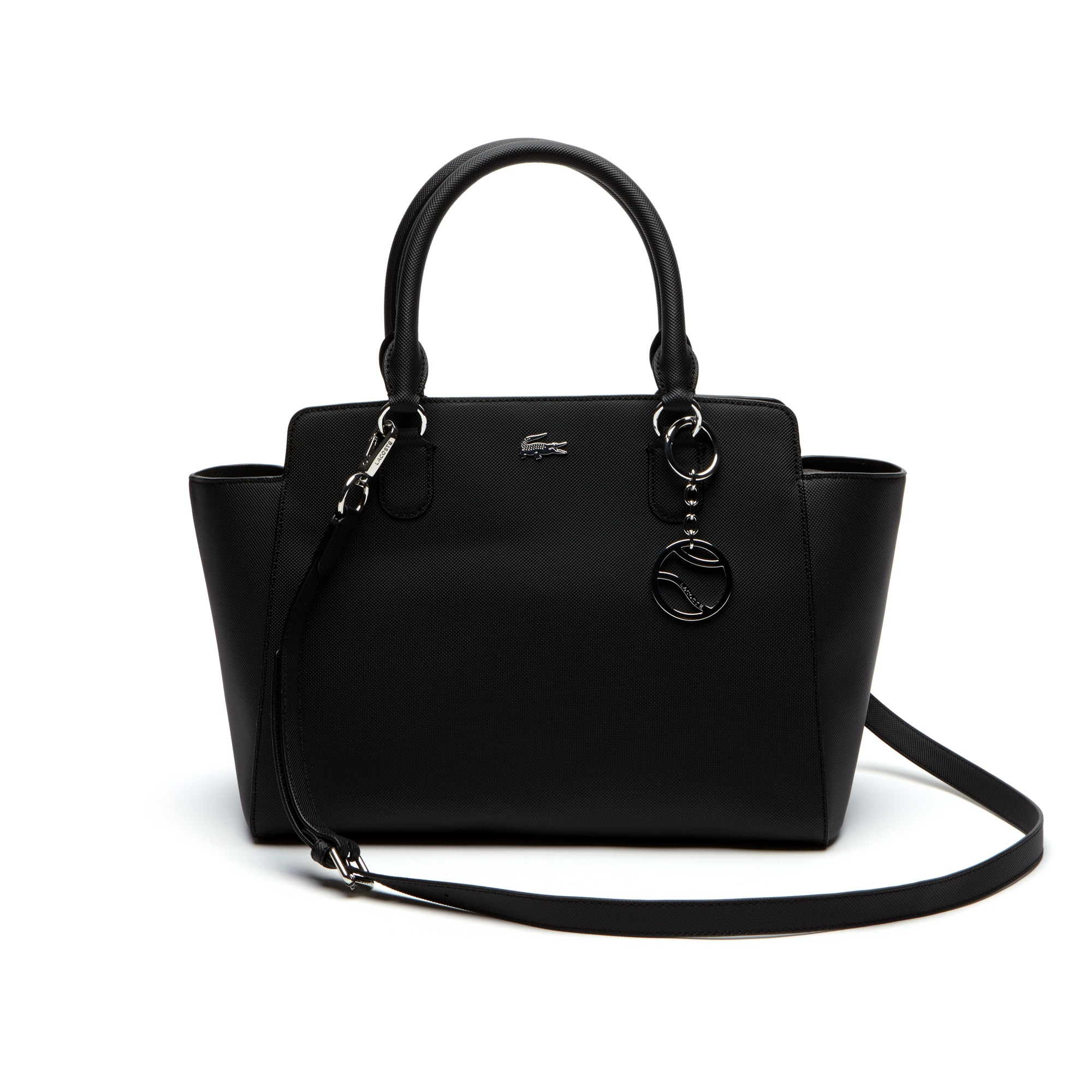 Women S Daily Classic Gusseted Coated Piqué Canvas Tote