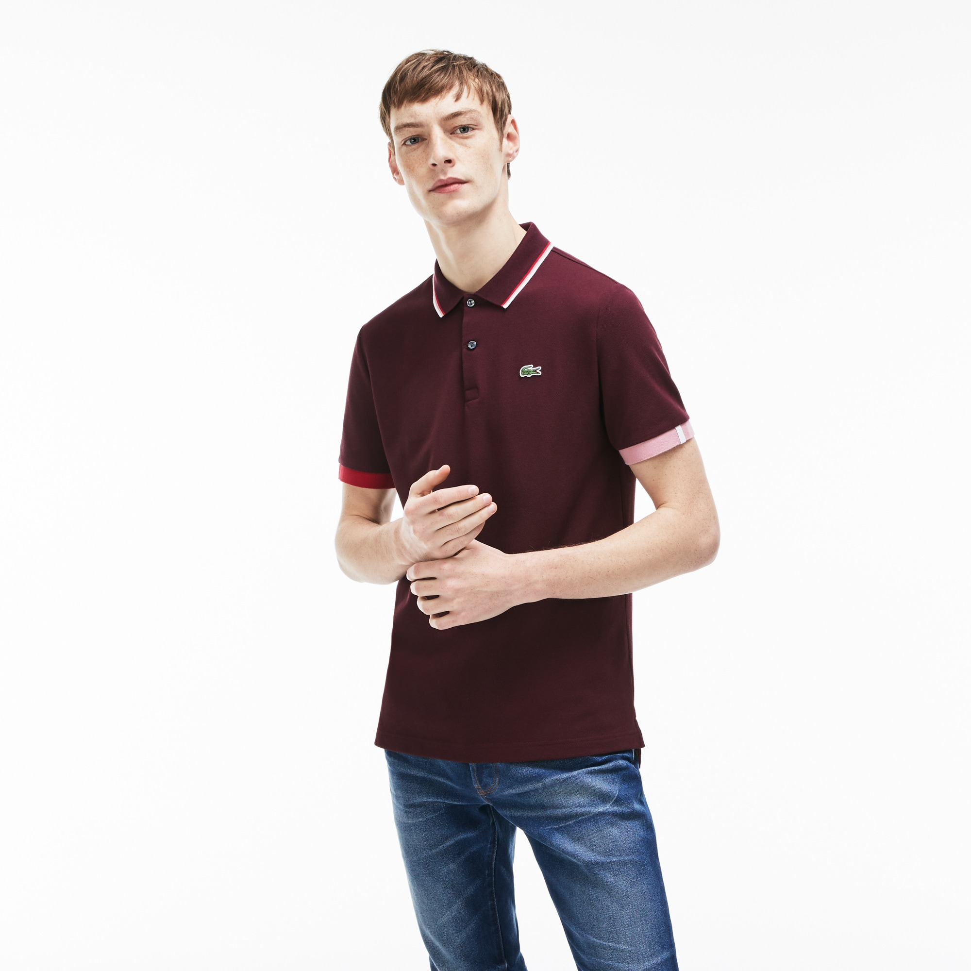 Men's LIVE Slim Fit Petit Piqué Polo