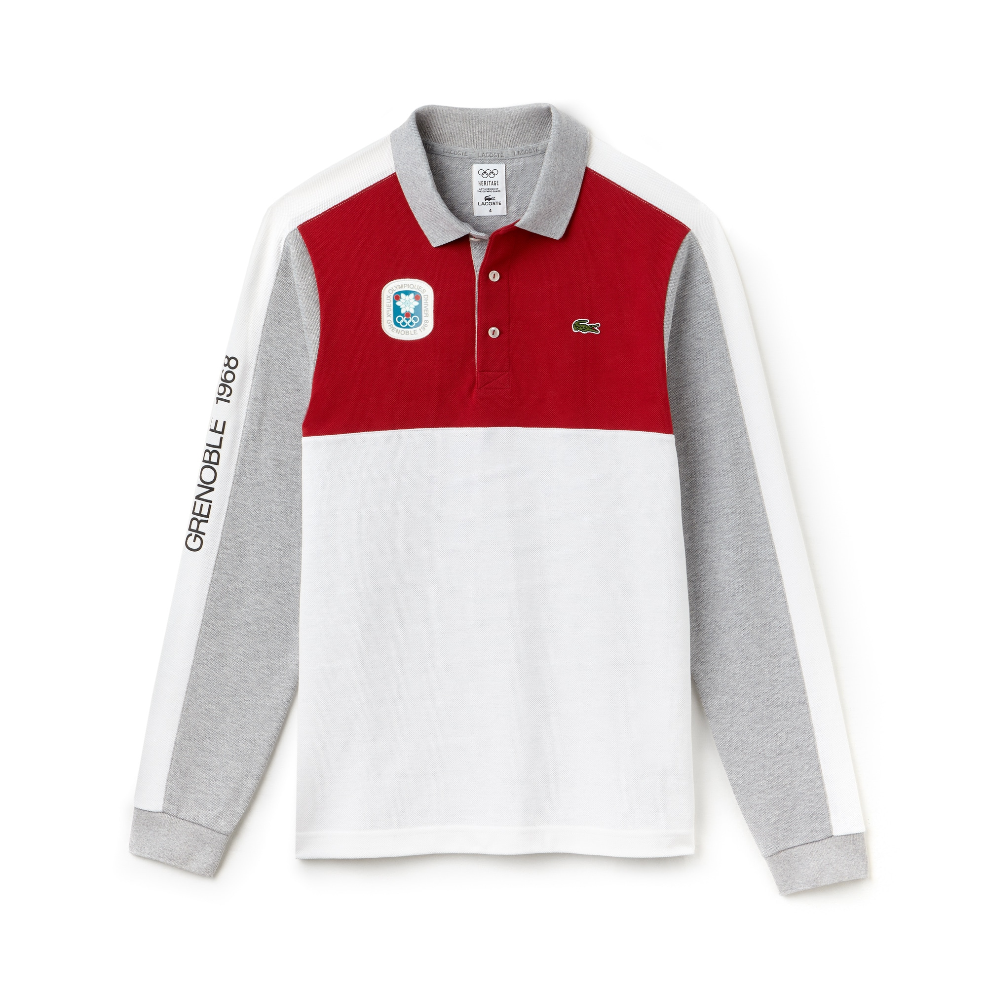 Olympic Heritage Collection by Lacoste Colorblock Polo
