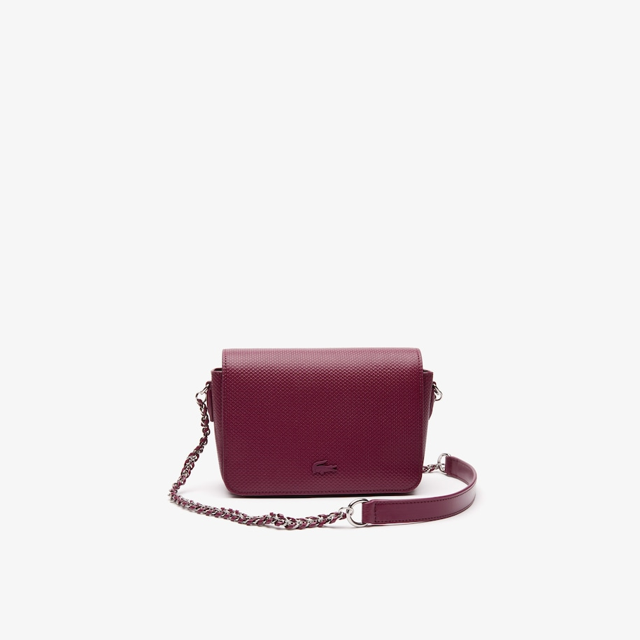 Women's Chantaco Leather Flap Bag with Chain Strap