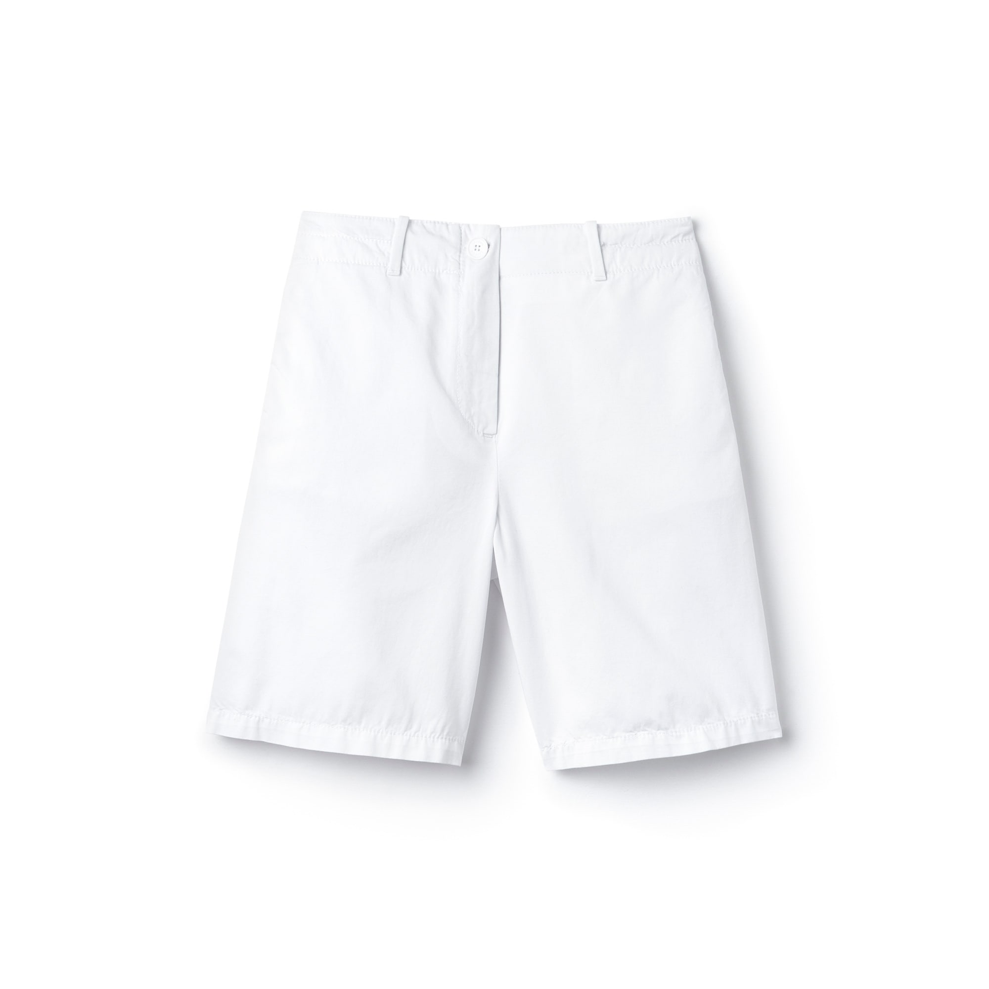 Women's Cotton Gabardine Bermuda Shorts