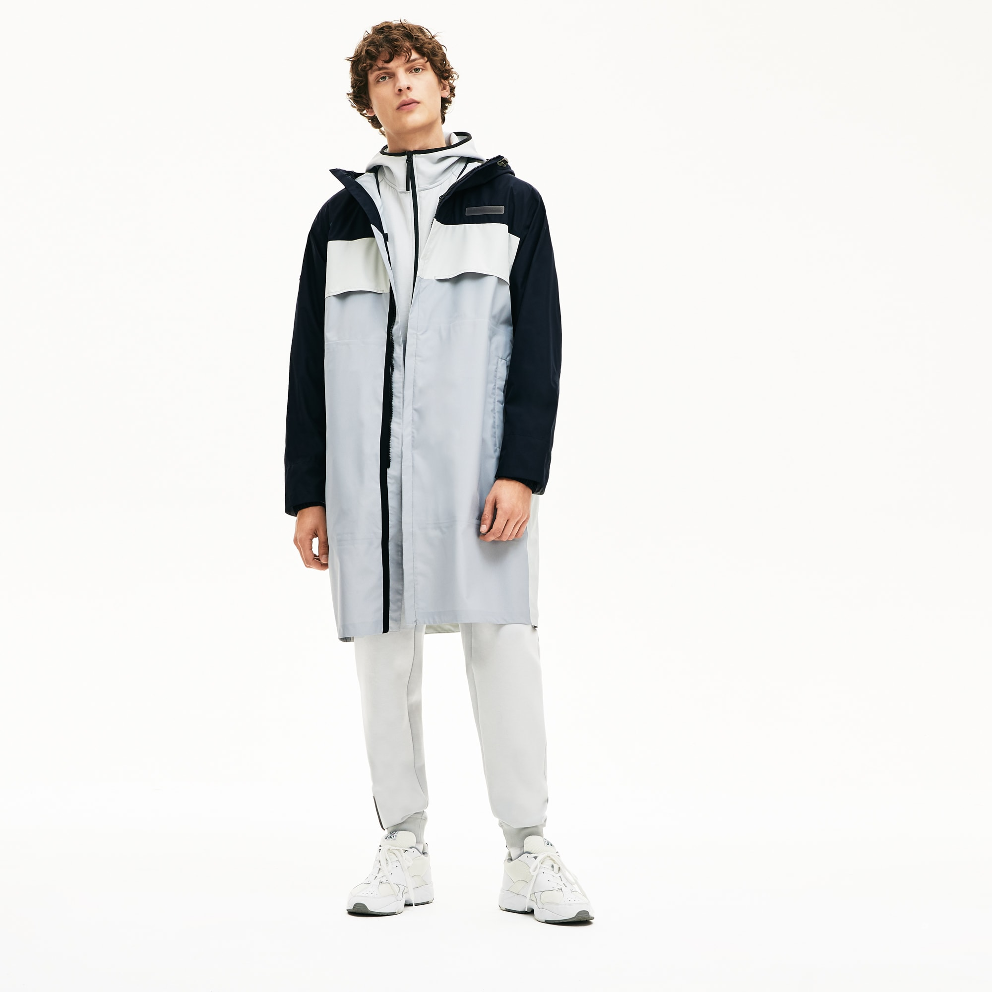 Lacoste Coats Men's Motion Packable Crease-Proof Parka