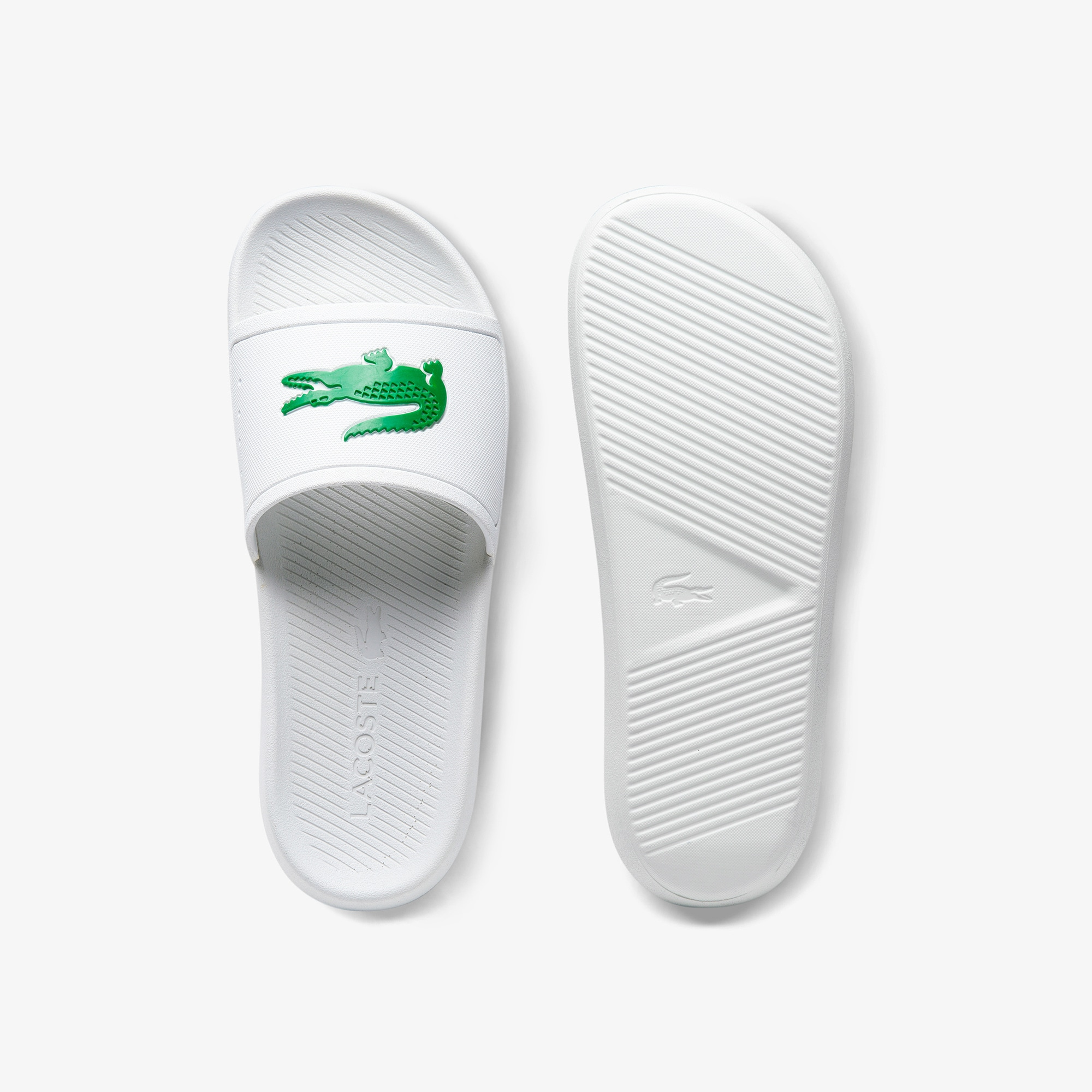 ed4c18682 Women s Croco Rubber Slides