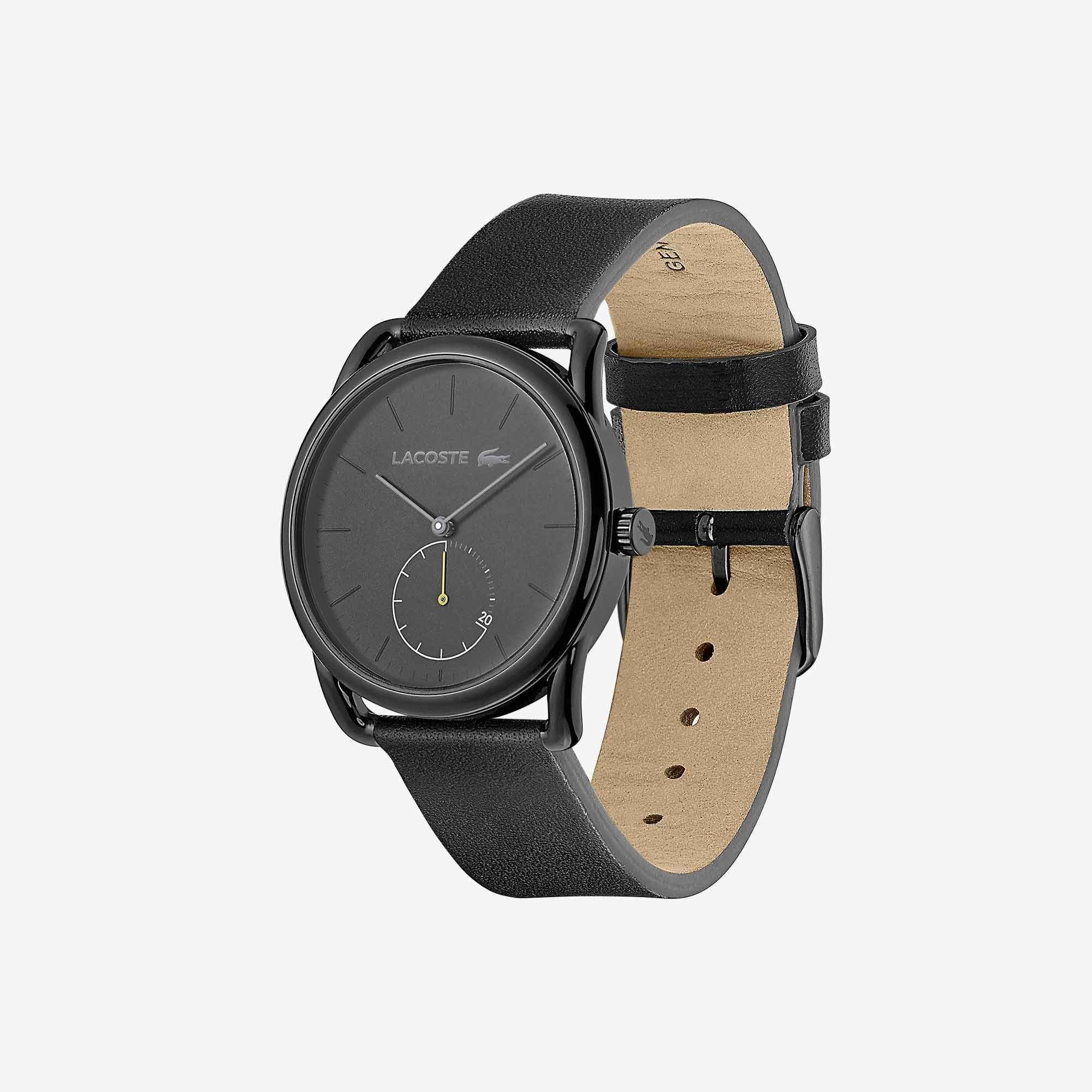 Mens Urban Watch with Black Leather Strap