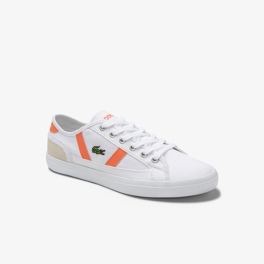 Women's Sideline Canvas and Suede Trainers