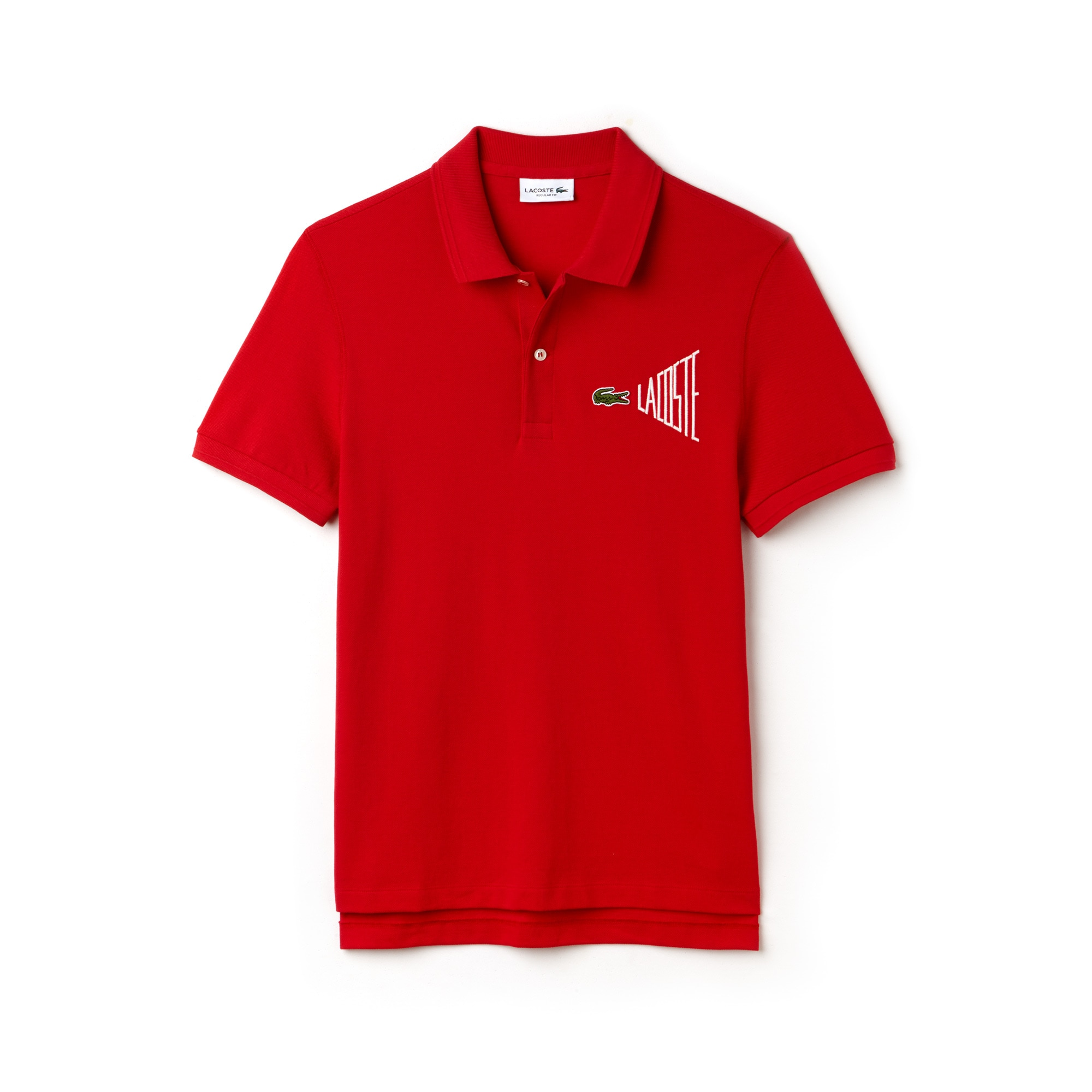 7a491c0821775c Piqué Lacoste Fit Regular Polo Uni En n08H64vq