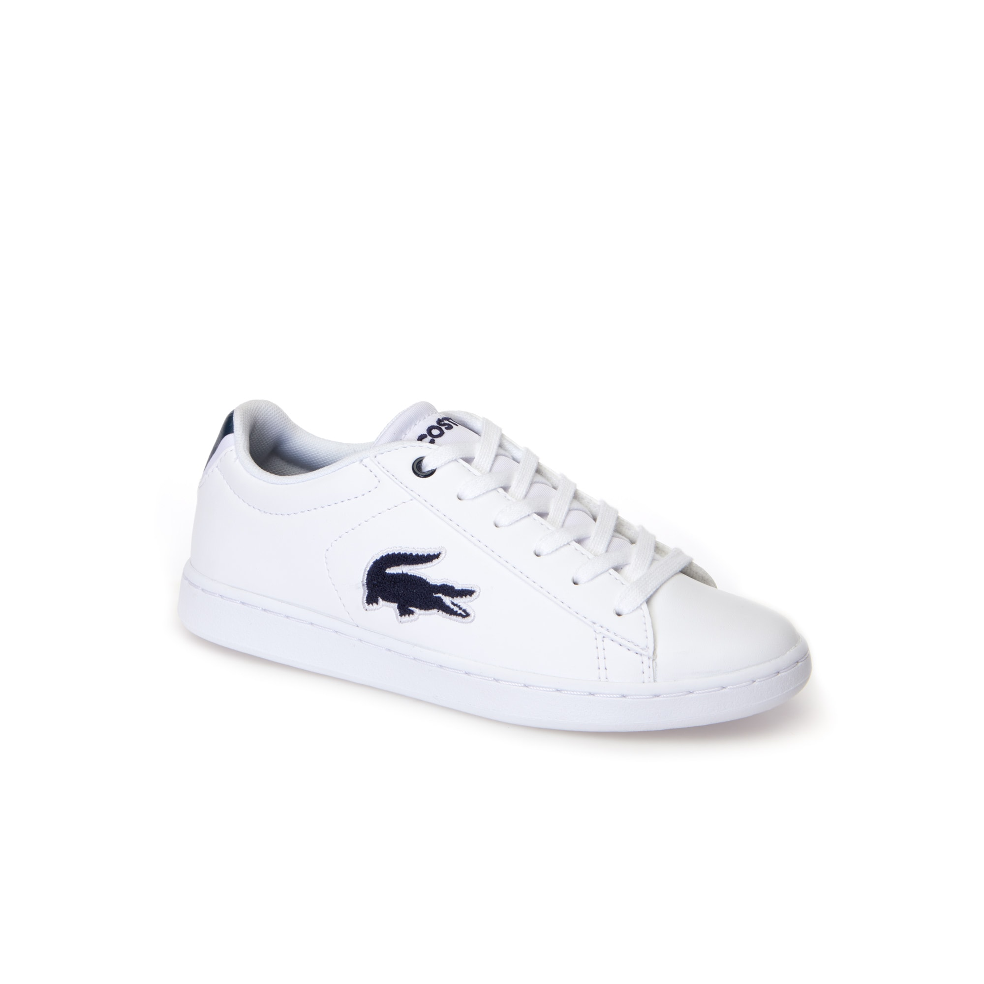 Children's Carnaby Evo White Synthetic and Textile Trainers