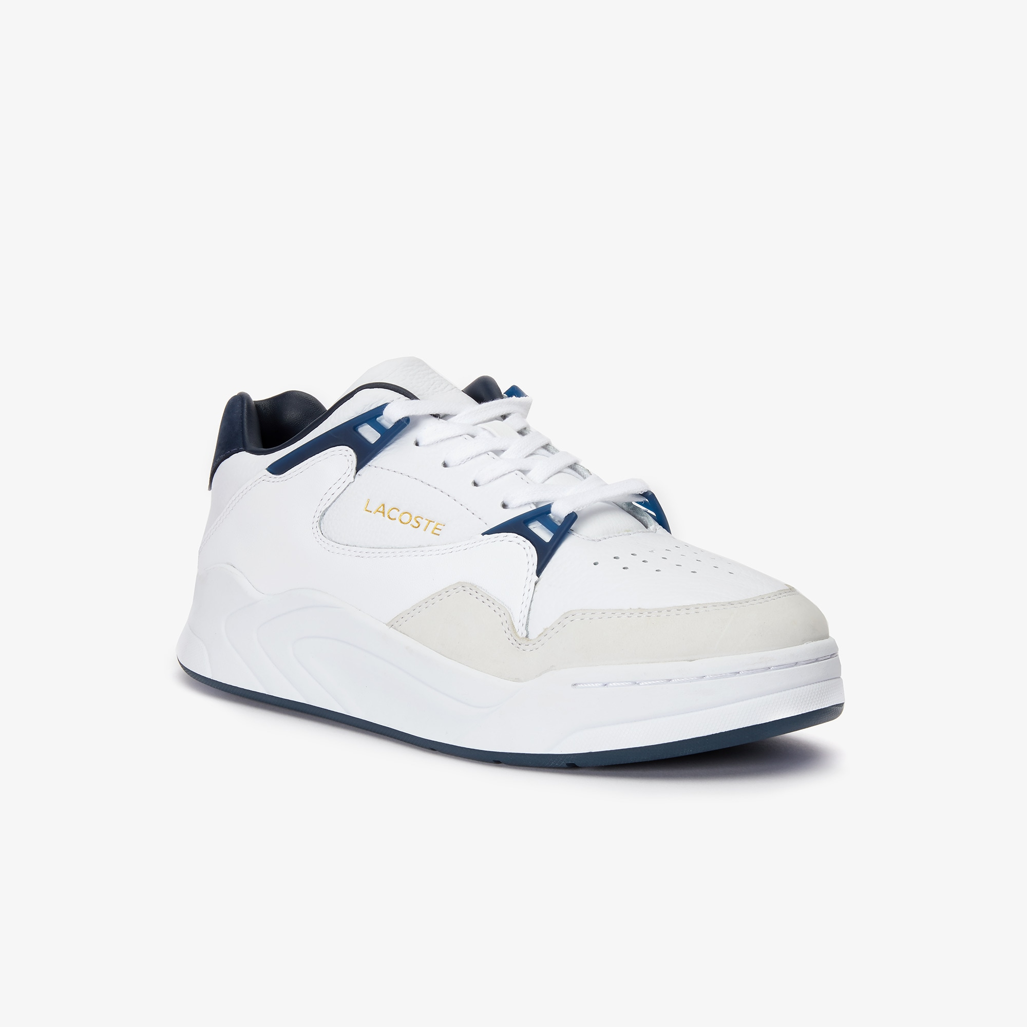 Lacoste Sneakers Men's Court Slam Two-Tone Leather Sneakers