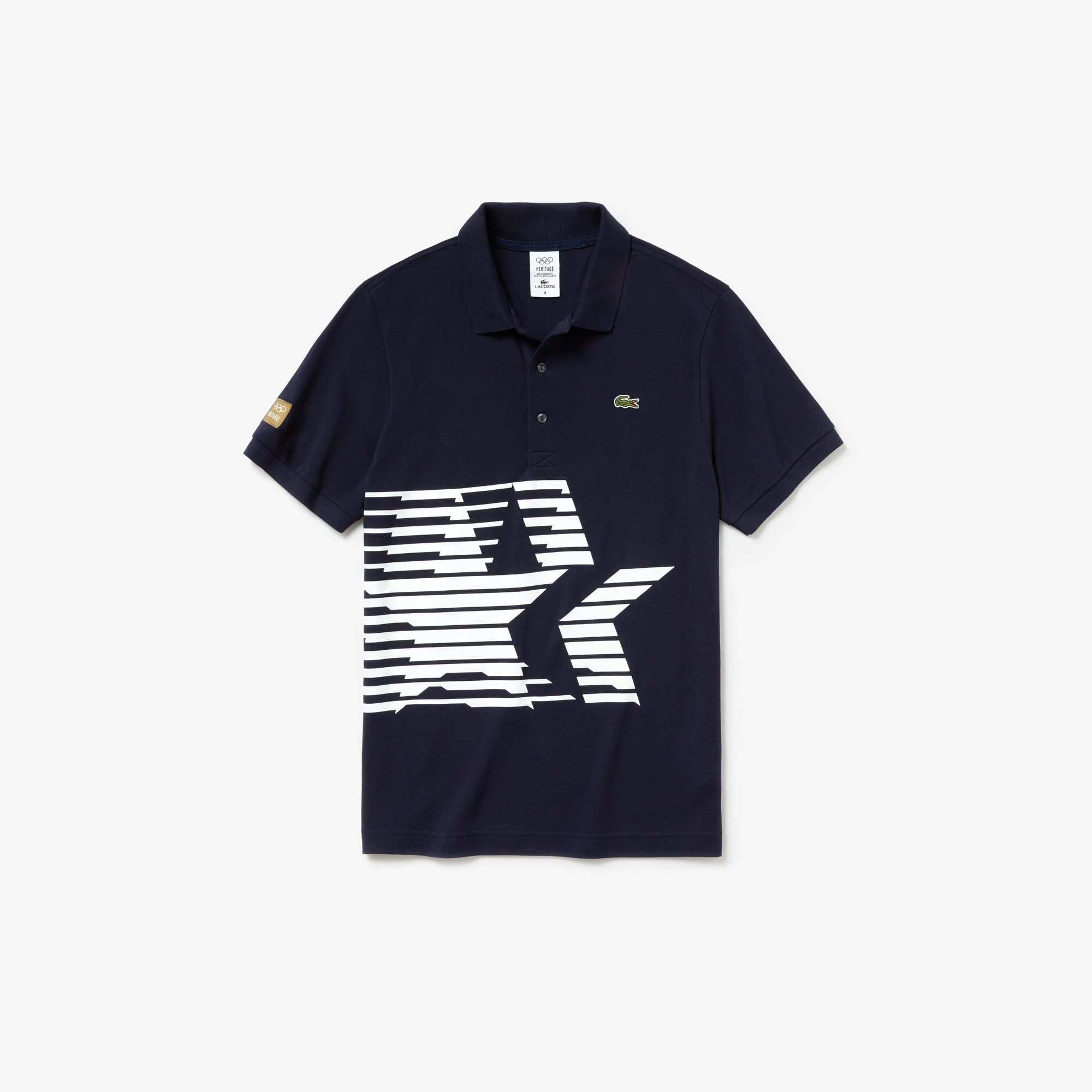 Men's Olympic Heritage Collection By Lacoste Petit Piqué Polo