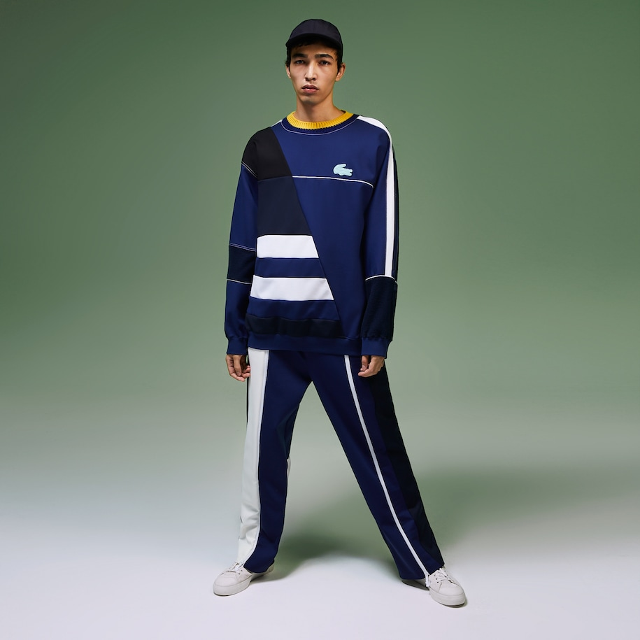 Unisex Fashion Show Multicolored Trackpants