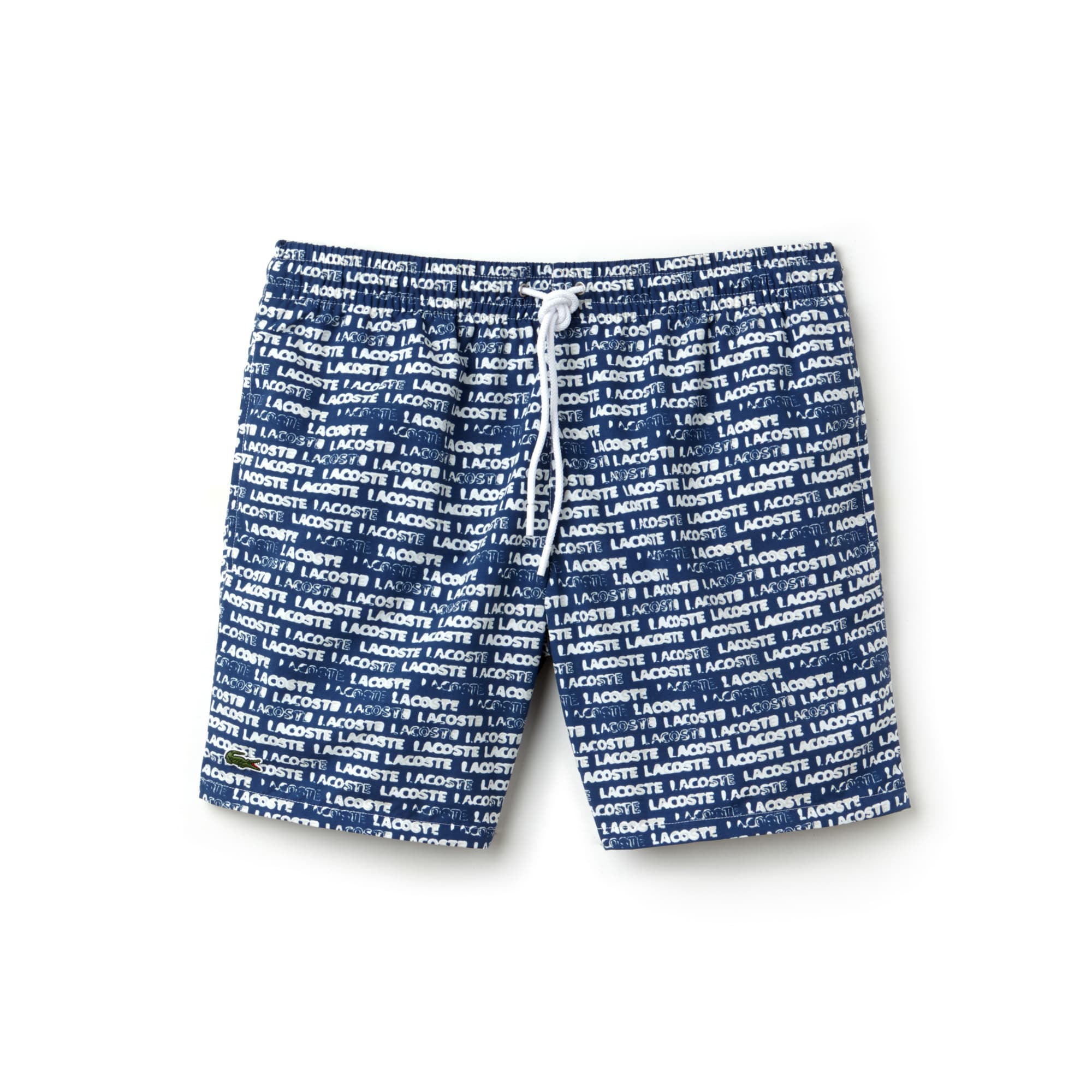 Men's Flowing Print Swimming Trunks