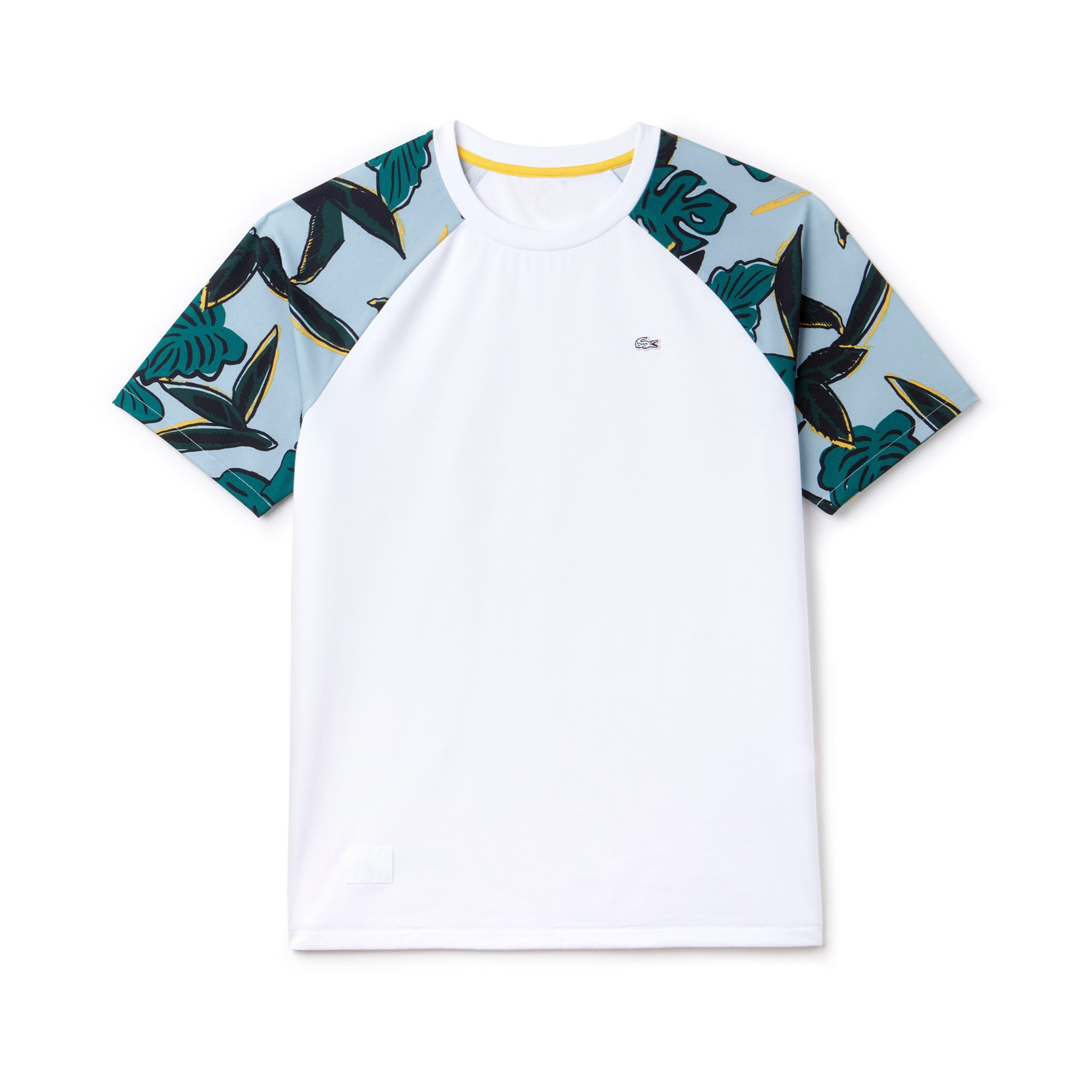 Women's LIVE Tropical Print Baseball Shirt