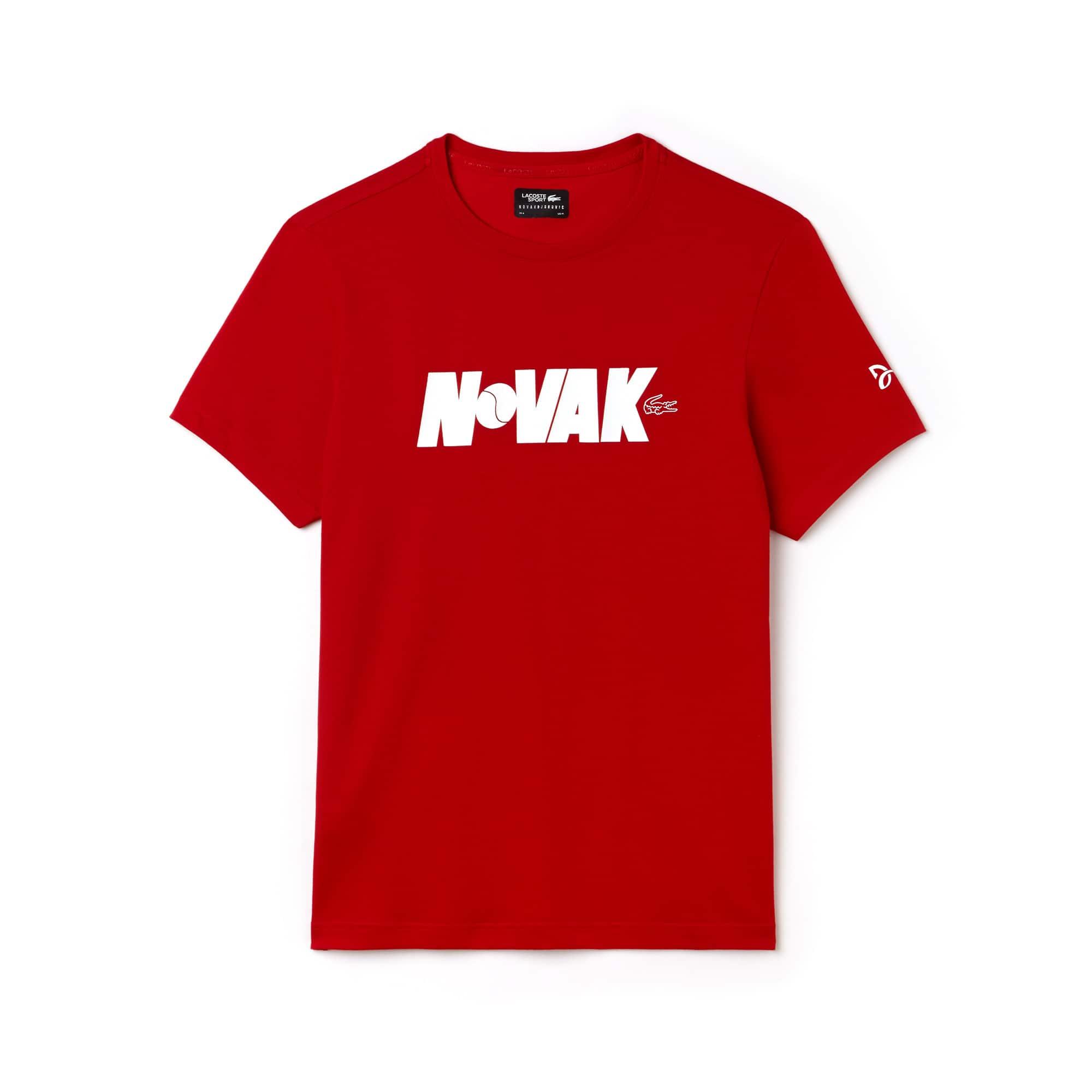 Men's SPORT Crew Neck Technical Jersey T-shirt - Novak Djokovic Supporter Collection