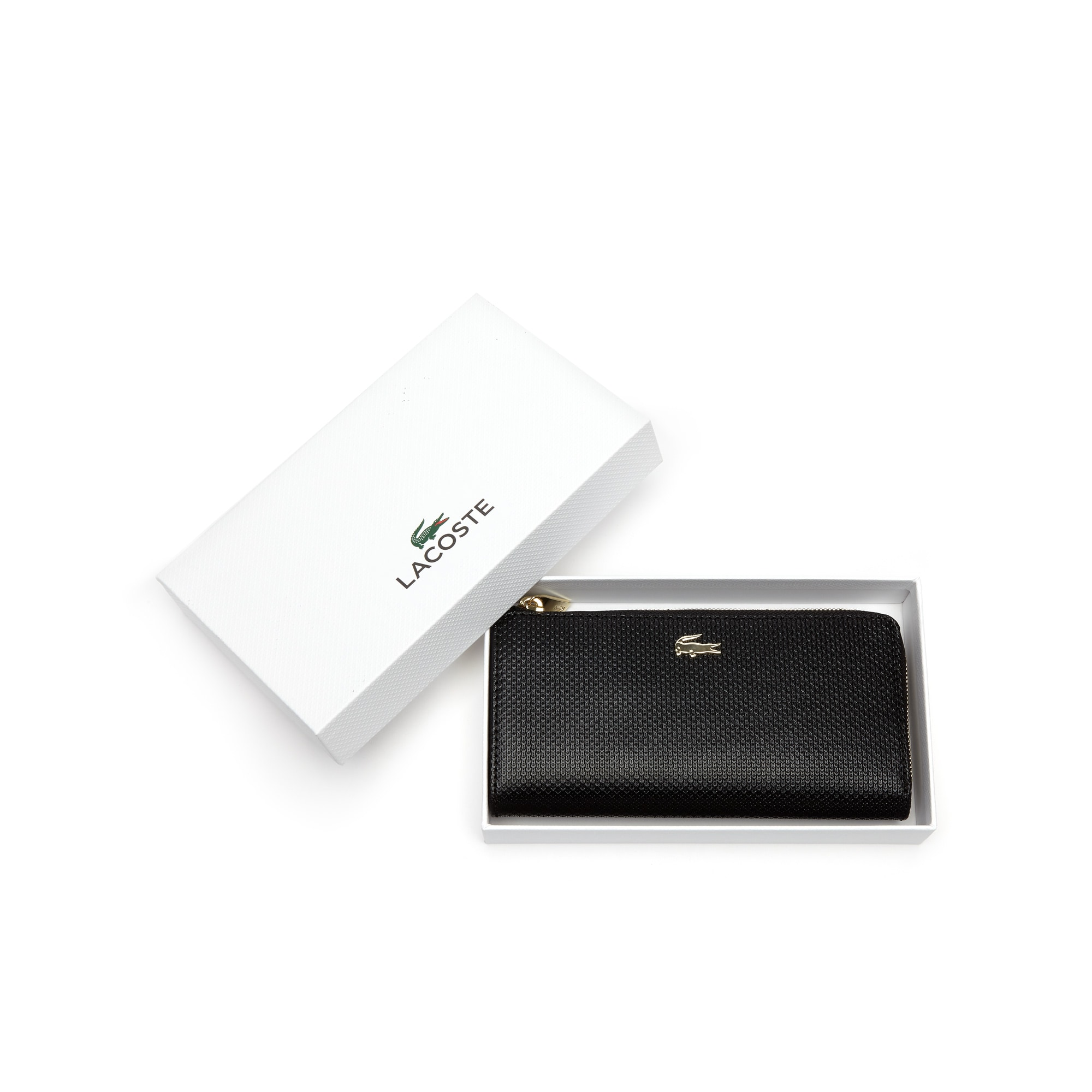 Women's Chantaco Piqué Leather 8-Card Zip Wallet