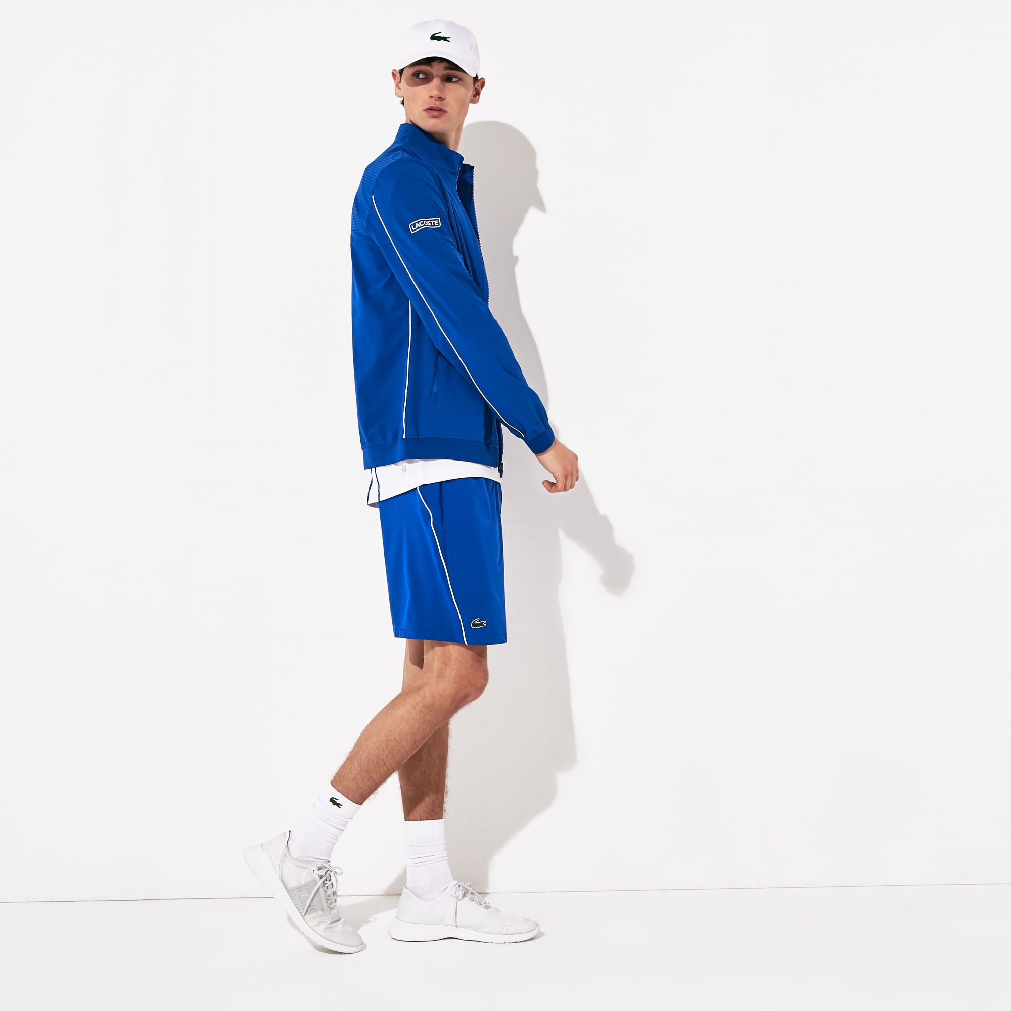 Men's SPORT Novak Djokovic Textured Zip Jacket