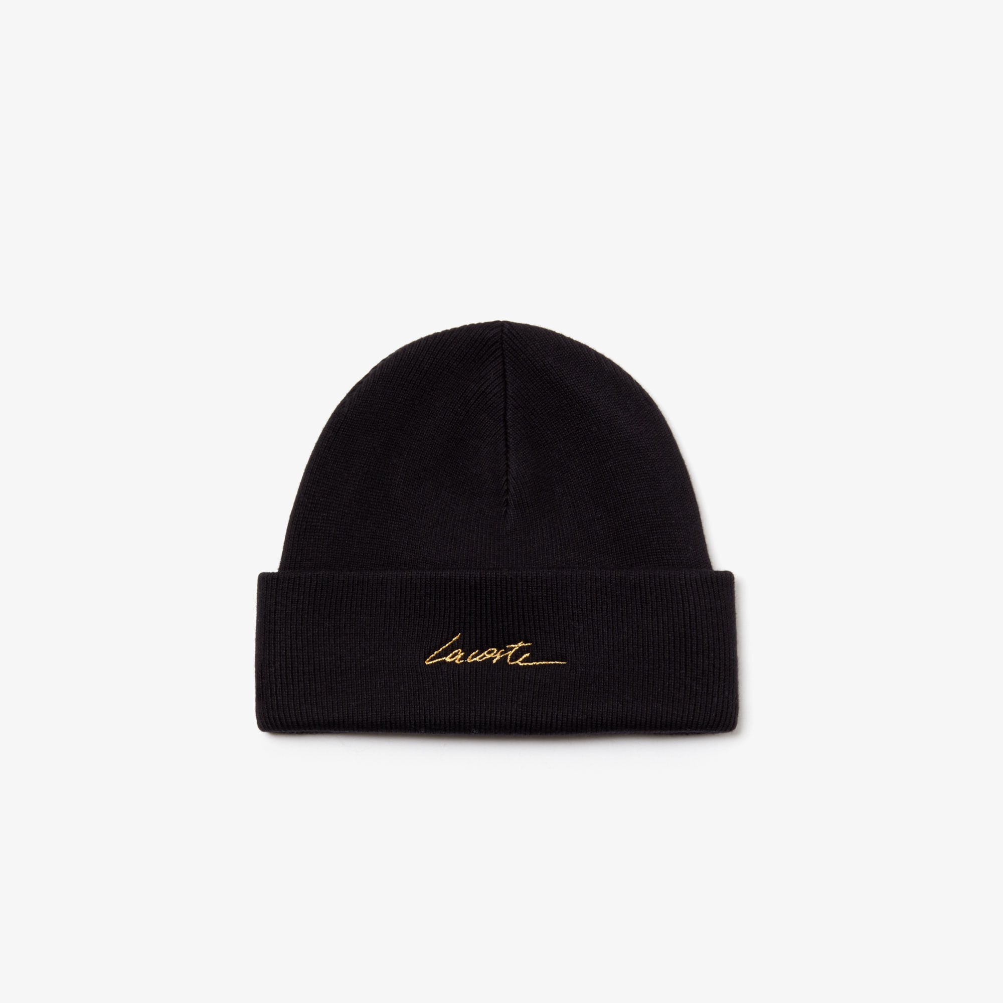 Unisex LIVE Signature Embroidered Cashmere-Blend Beanie