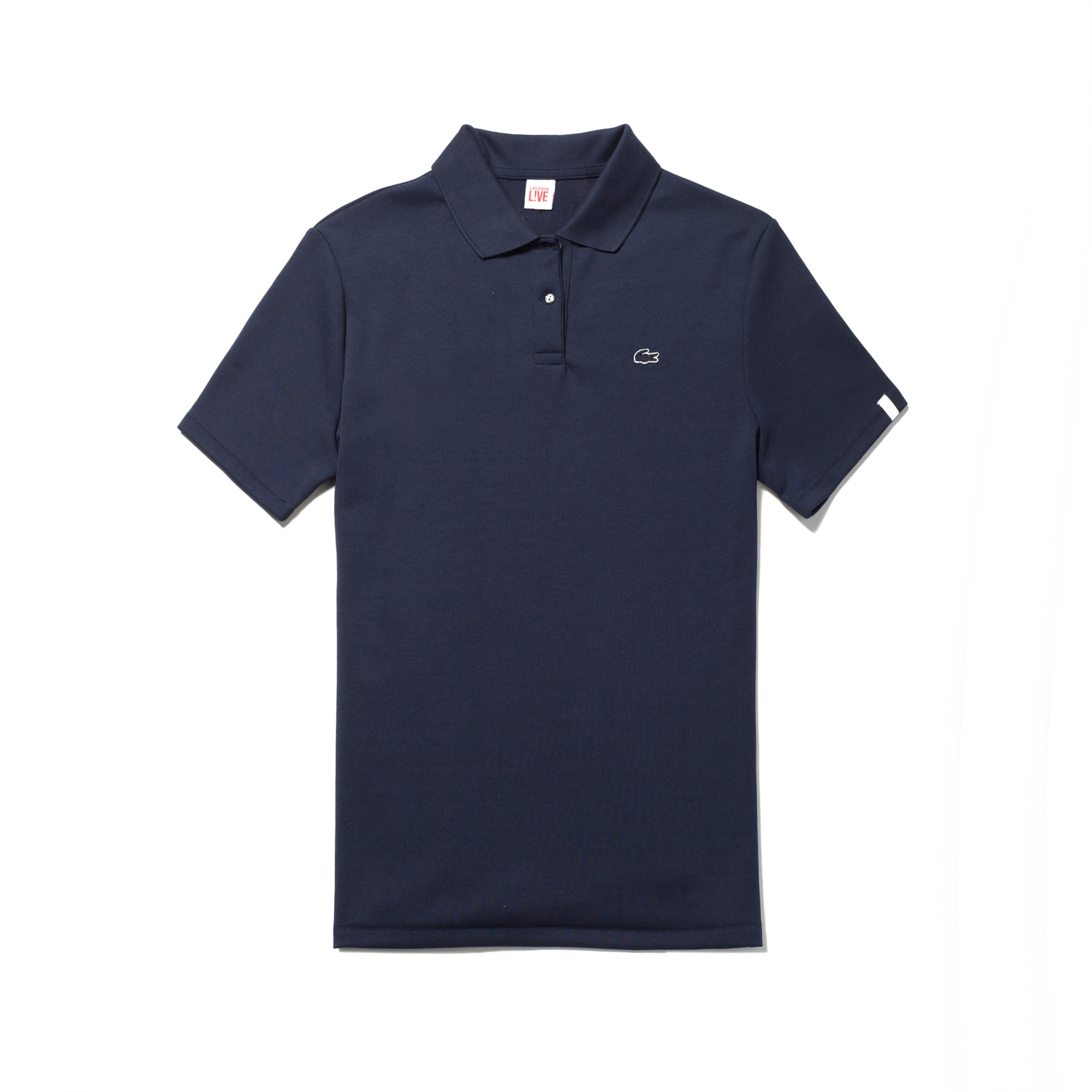 Women's L!VE Back Zip Polo Shirt
